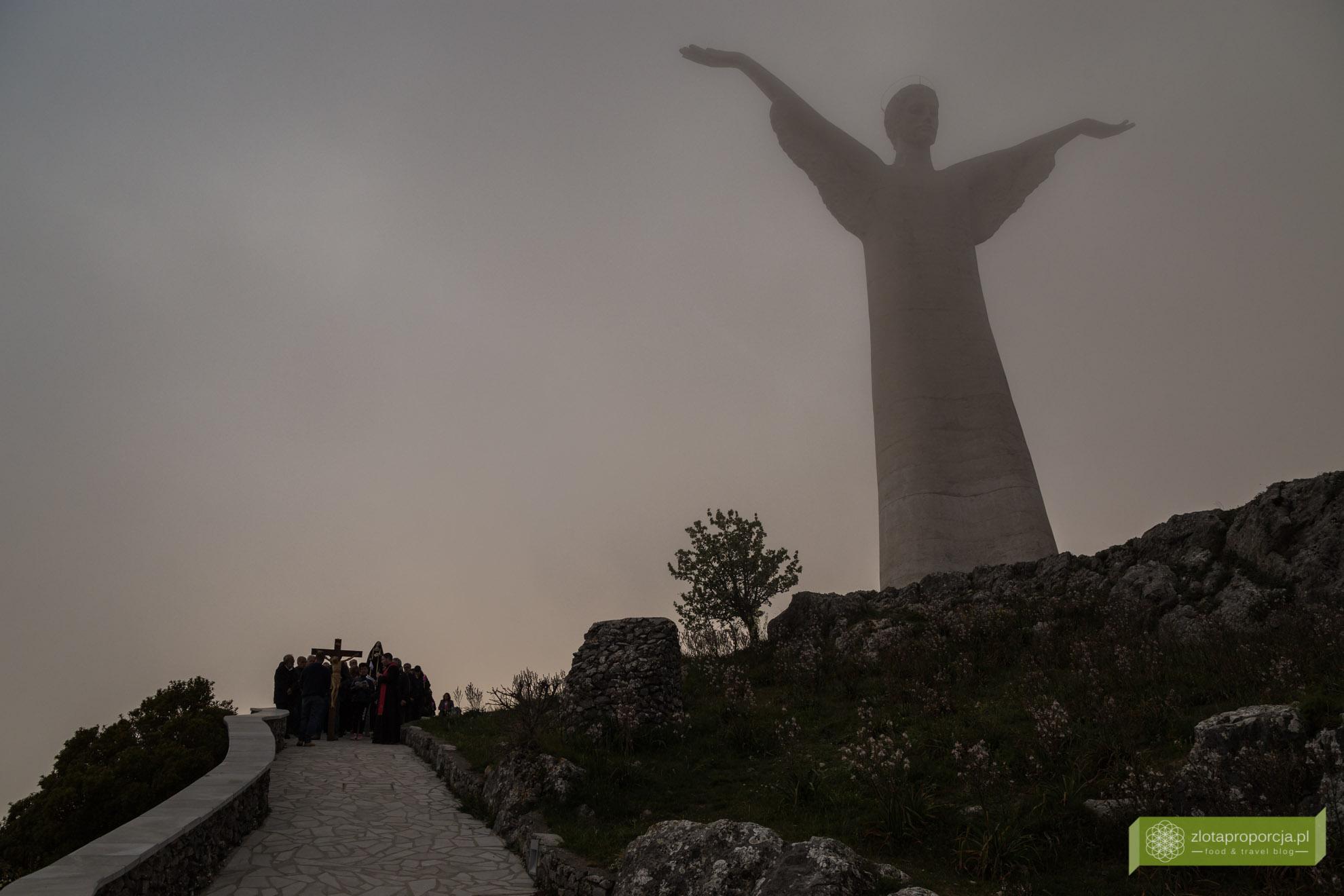 Maratea, Bazylikata, atrakcje Bazylikaty, statua Cristo Redentore, statua Jezusa