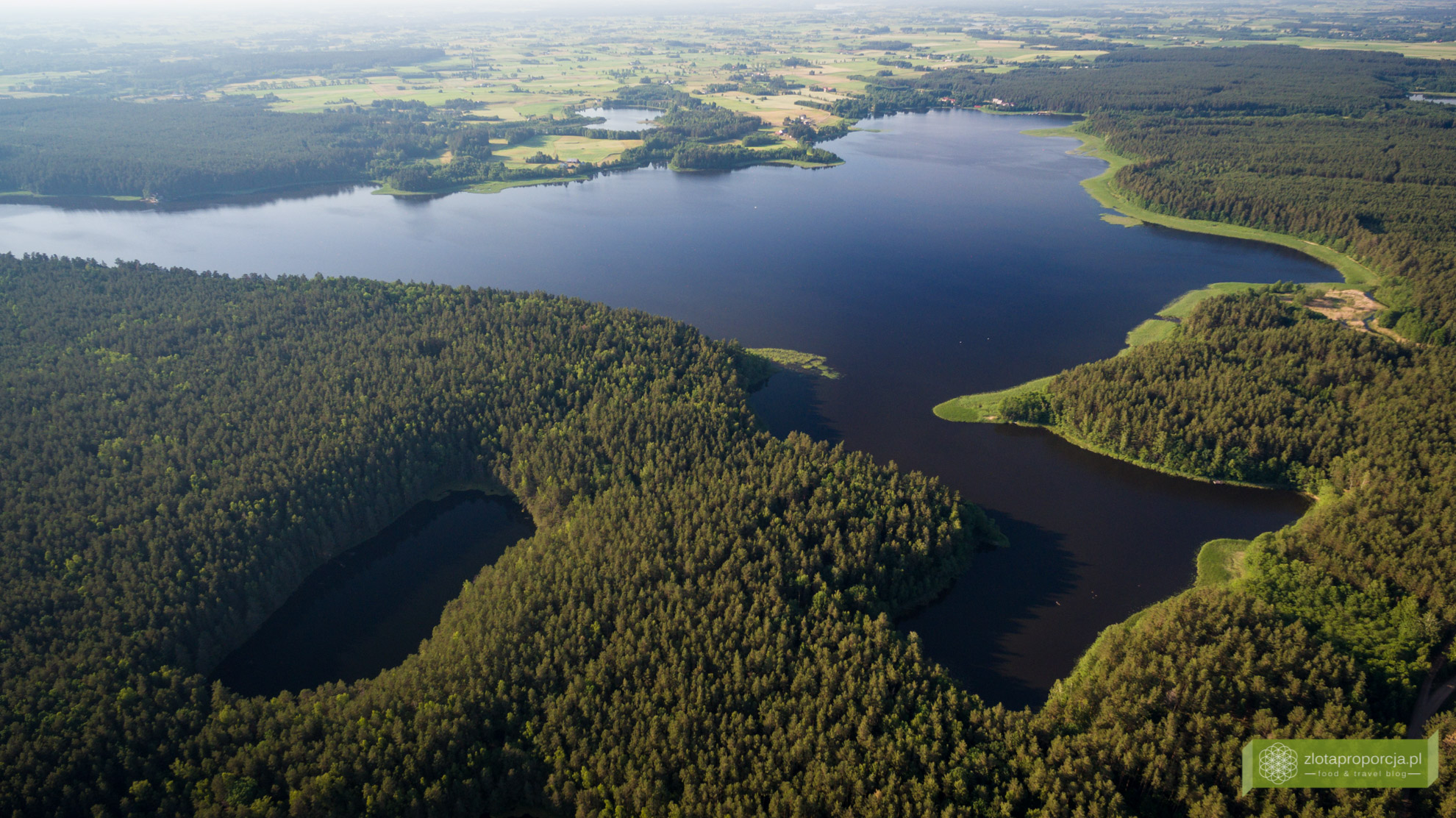 Rezerwat Przyrody Tobolinka, Jezioro Pomorze, Suwalszczyzna, atrakcje Suwalszczyny, Suwalszczyzna z drona, Podlasie