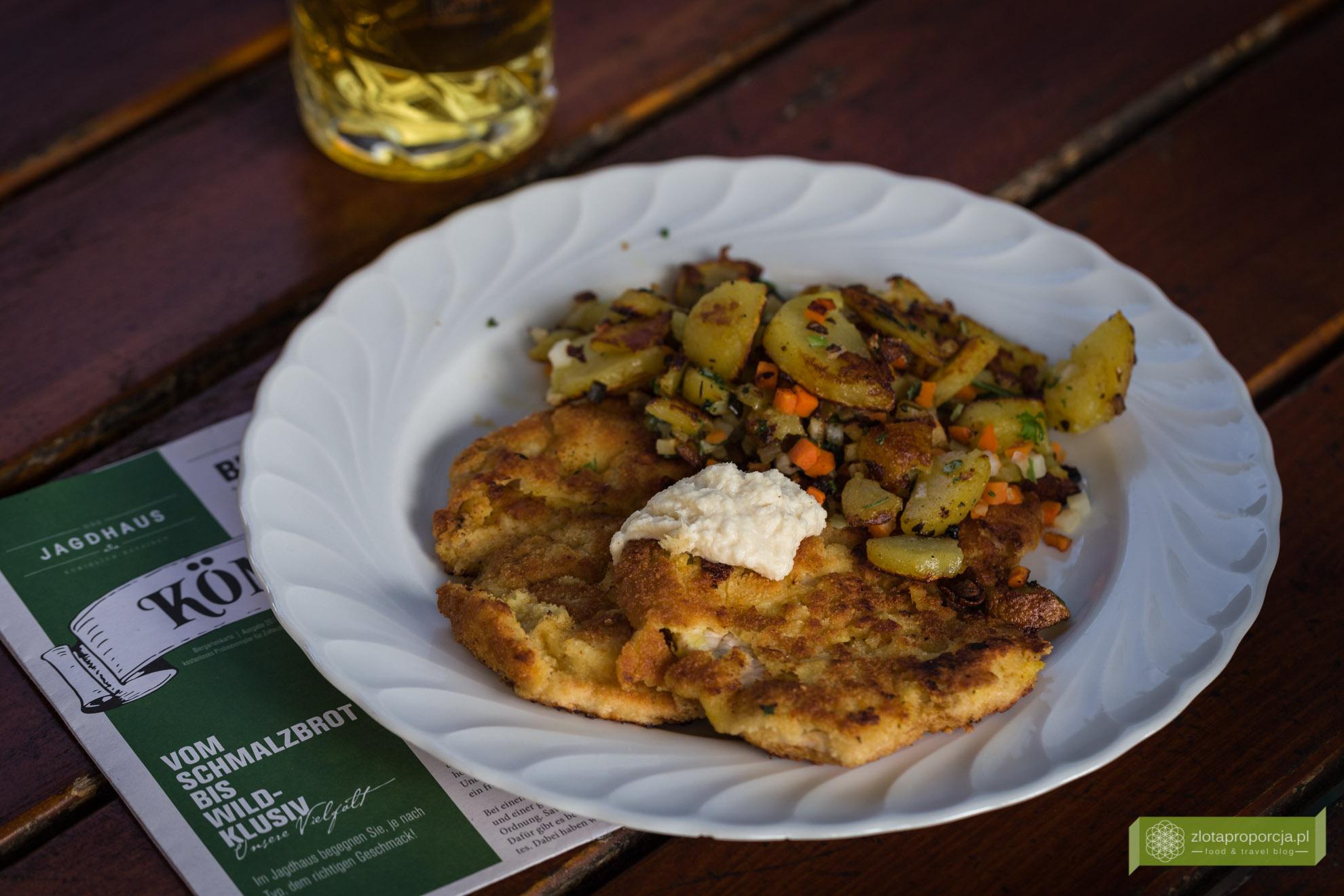 kuchnia bawarska, kuchnia Bawarii, bawarskie potrawy, Bawaria, sznycel po monachijsku, sznycel po bawarsku