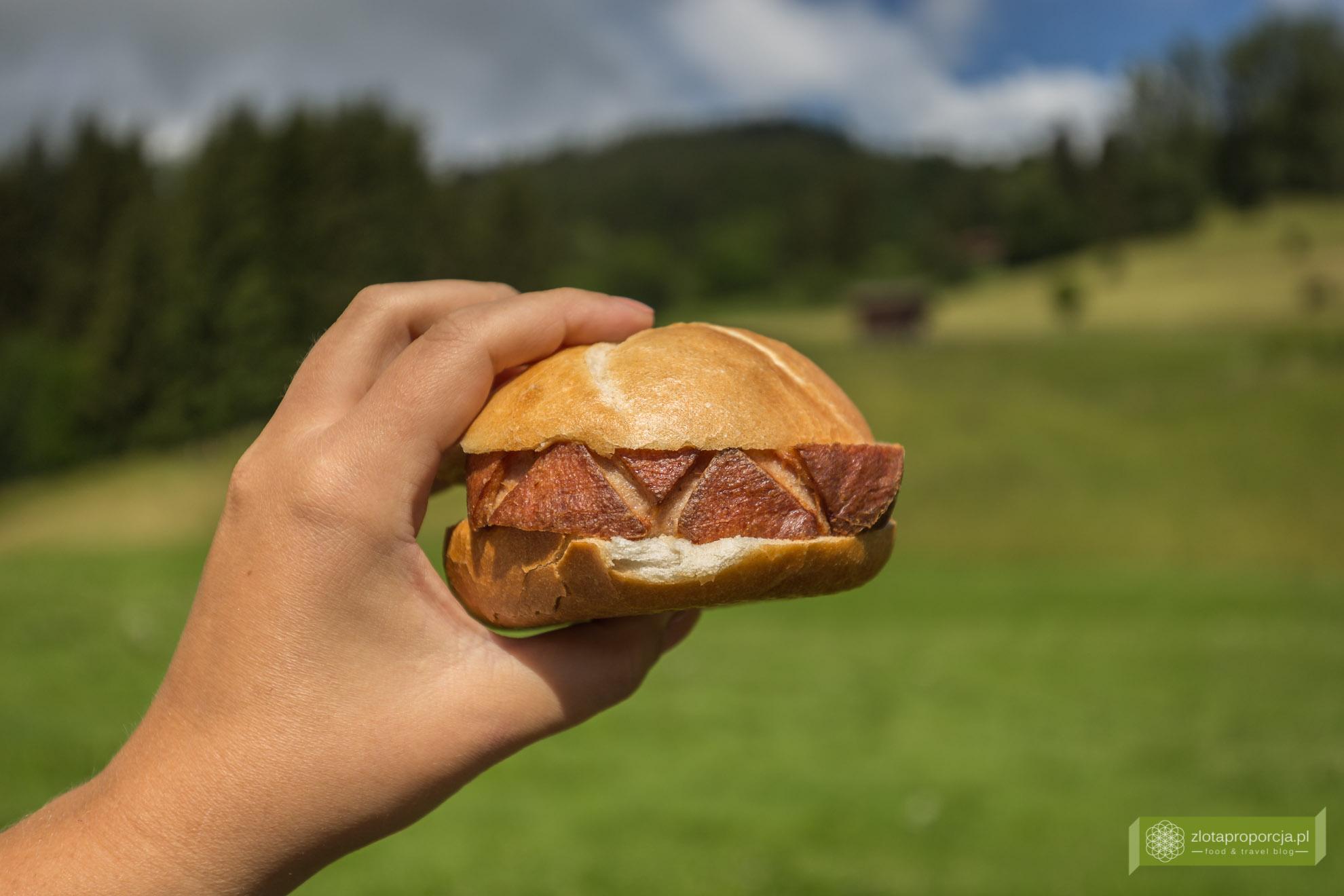 kuchnia bawarska, kuchnia Bawarii, bawarskie potrawy, Bawaria, Leberkäse, Leberkäsesemmel