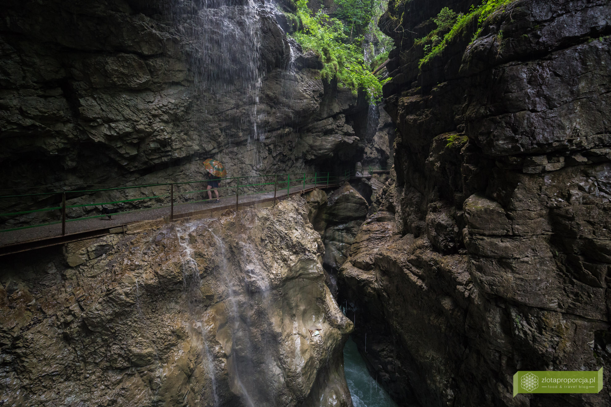 Alpy Algawskie, Oberstdorf, Bawaria, Breitachklamm