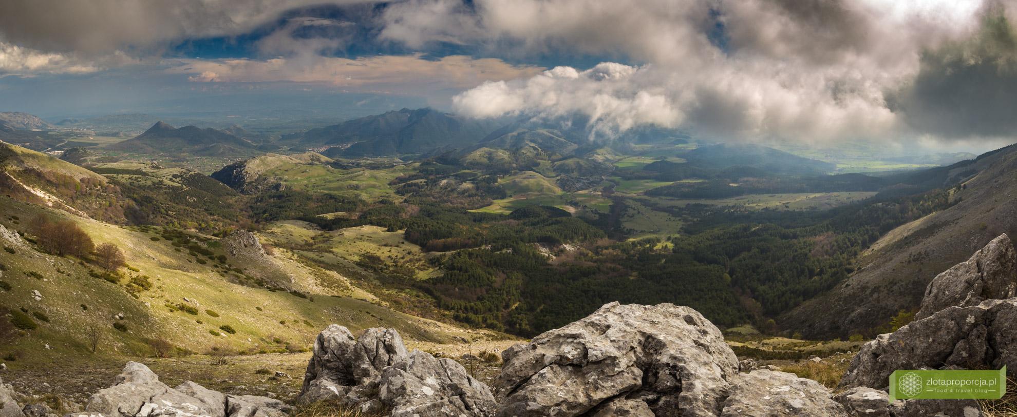 Bazylikata, atrakcje Bazylikaty, Pollino, góry Pollino