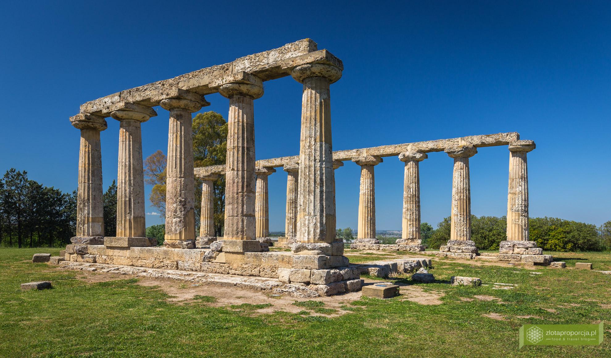 Bazylikata, atrakcje Bazylikaty, Tavole Palatine, Metaponto