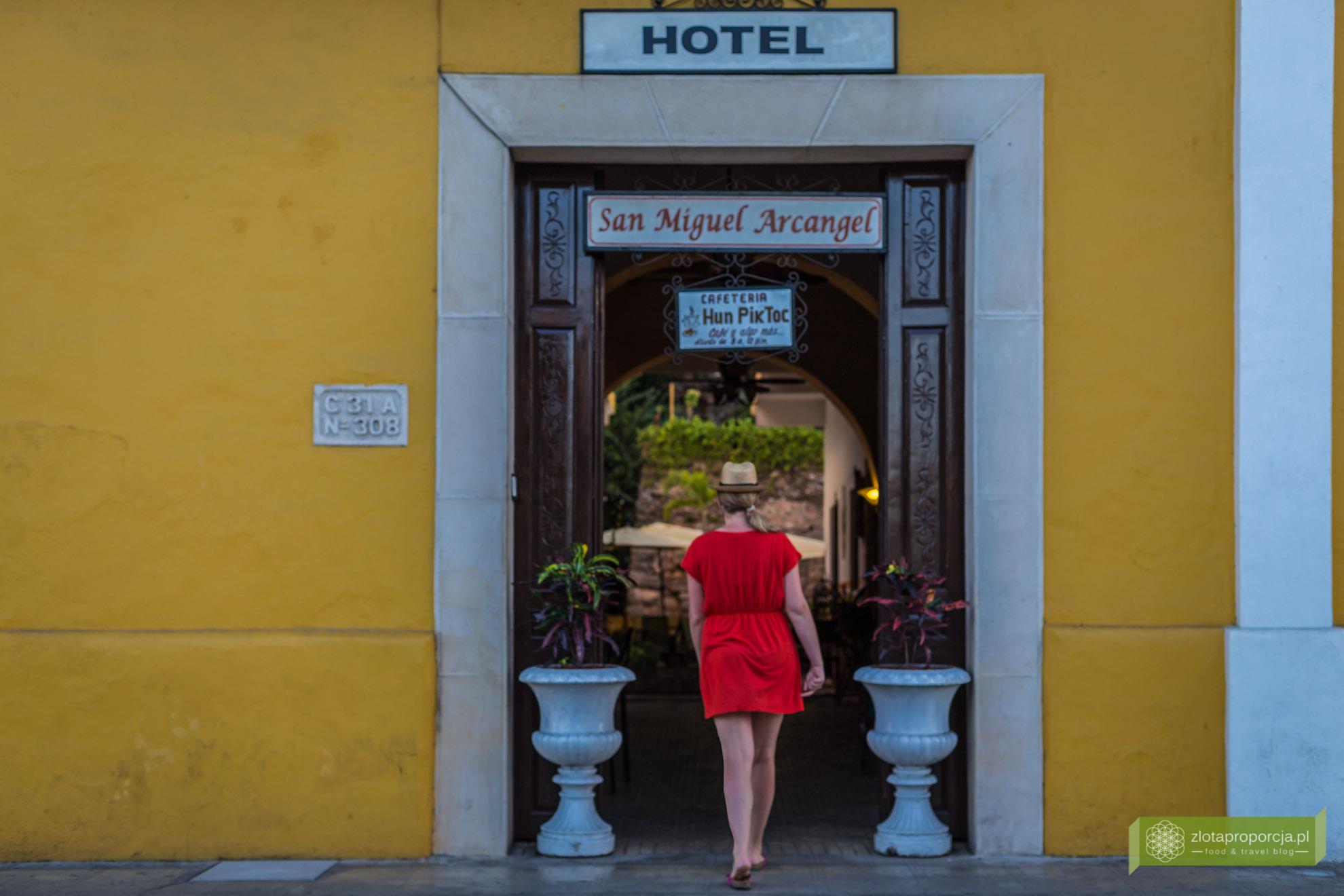 noclegi na Jukatania, nocleg w Izamal, Meksyk, Hotel San Miguel Arcangel