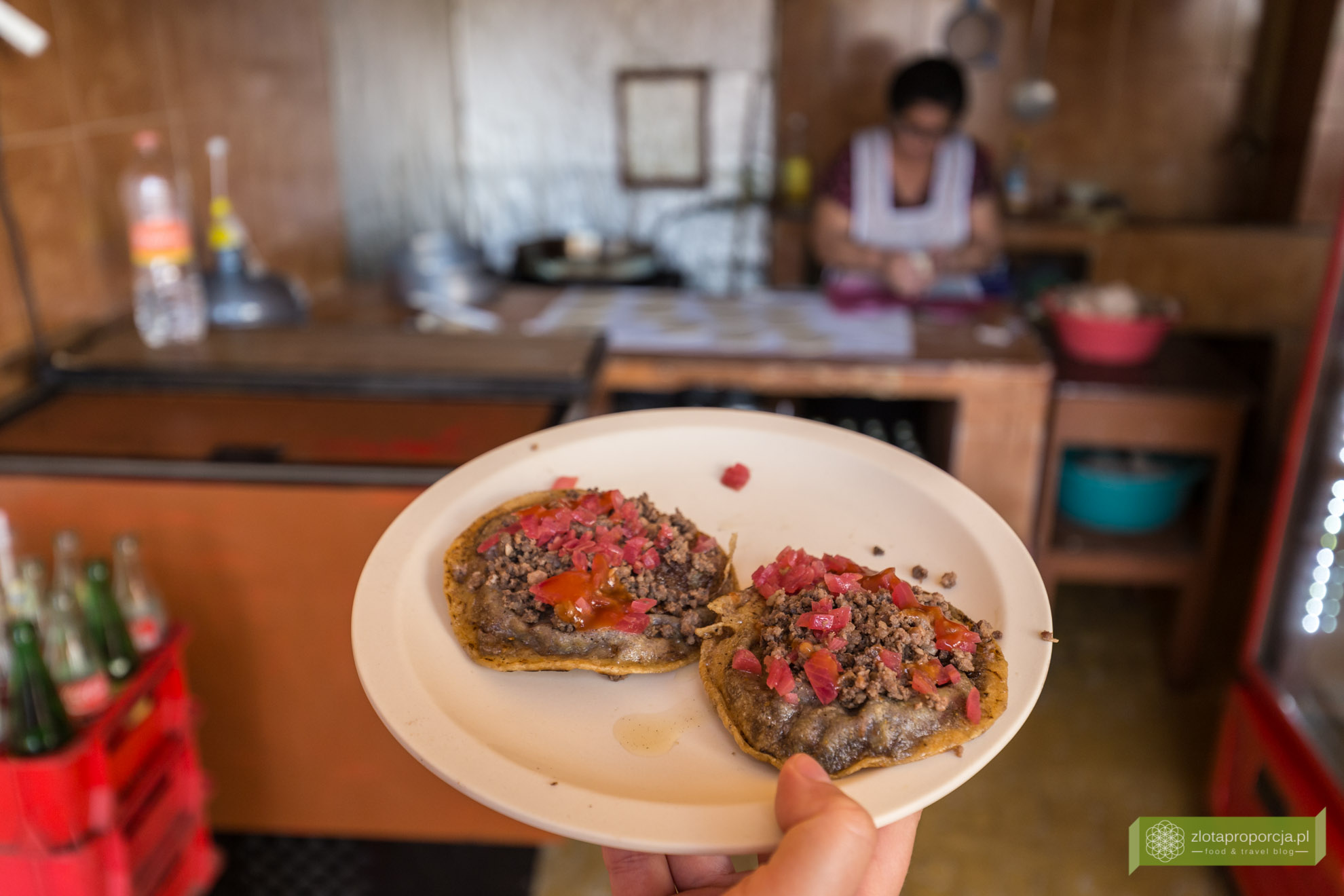 Izamal, żółte miasto, Jukatan, Jukatan atrakcje, Meksyk, tortille, meksykański street food