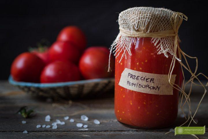 pomidory, przecier pomidorowy, passata