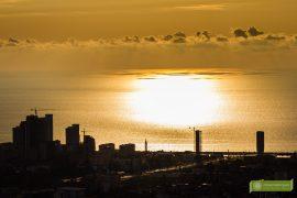 Batumi, Gruzja, Adżaria, atrakcje Batumi, co zobaczyć w Batumi, atrakcje Gruzji; kolejka linowa w Batumi, zachód słońća w Batumi