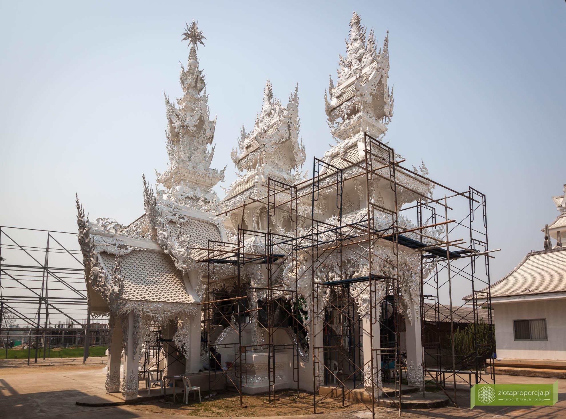 Chiang Rai, Tajlandia Biała Świątynia w Chiang Rai; Biała Świątynia Wat Rong Khun;