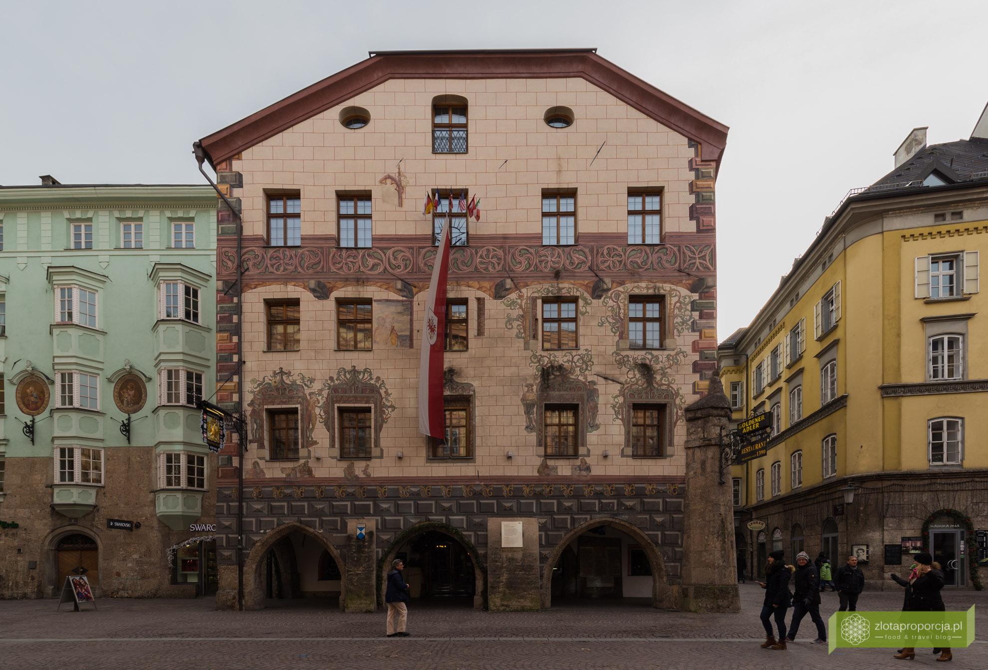 Innsbruck, Tyrol, Austria, starówka w Innsbrucku
