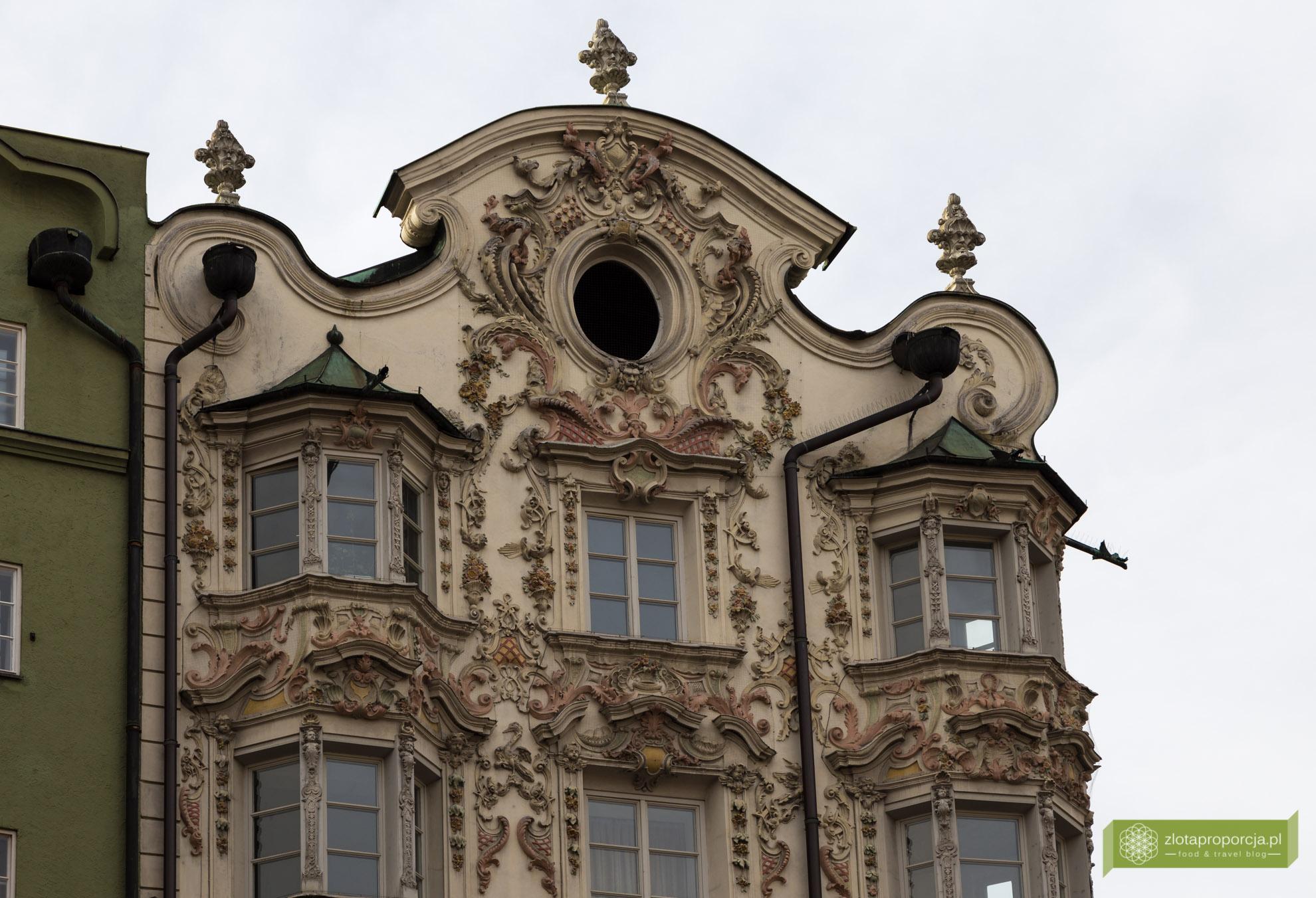 Innsbruck, Tyrol, Austria, atrakcje Innsbrucka, Helblinghaus