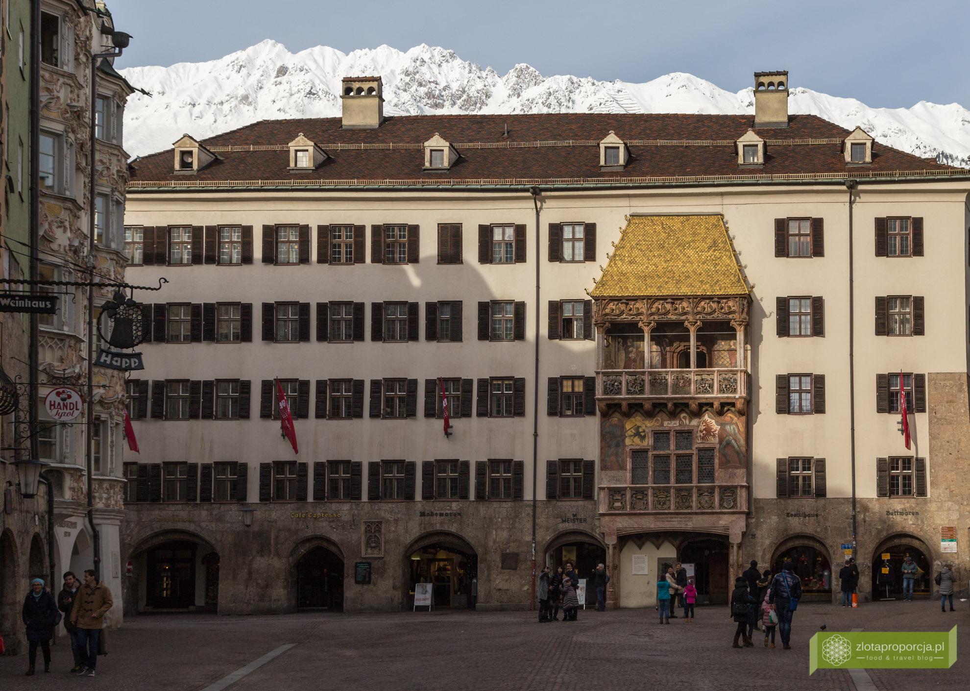 Innsbruck, Tyrol, Austria, atrakcje Innsbrucka, Goldenes Dachl
