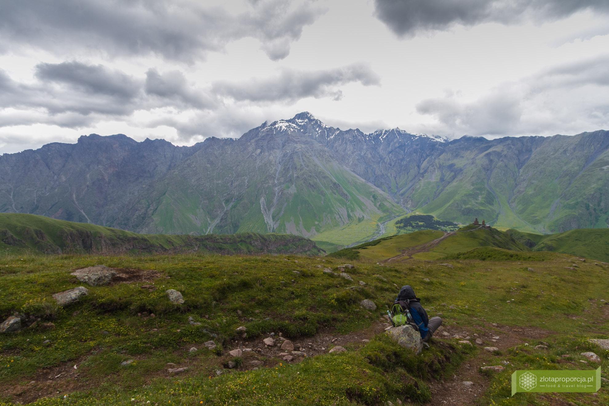 Kazbegi, Gruzja, trekking w Gruzji, atrakcje w Gruzji, Kazbegi