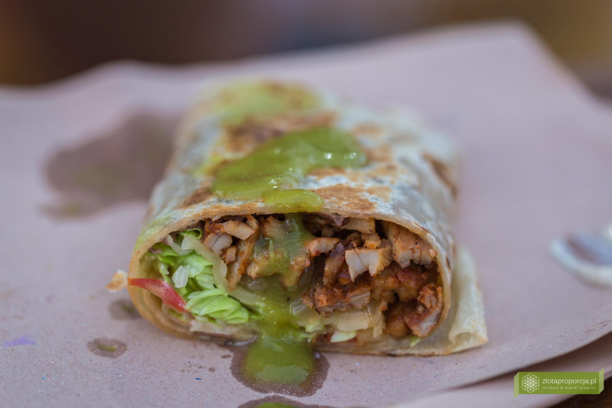 kuchnia Jukatanu, kuchnia meksykańska, meksykańskie potrawy, potrawy na Jukatanie, meksykański street food, burrito
