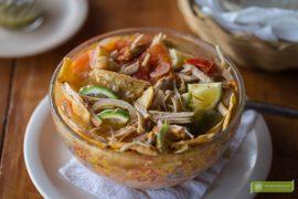 kuchnia Jukatanu, kuchnia meksykańska, meksykańskie potrawy, potrawy na Jukatanie, sopa de lima