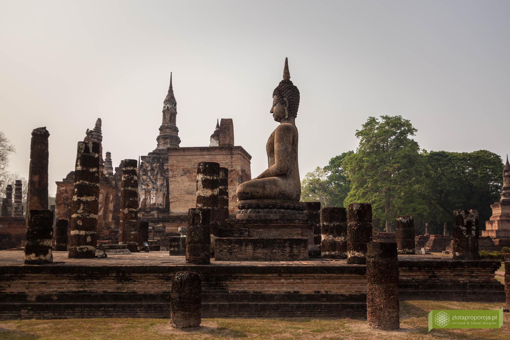 Sukhothai, Park Historyczny Sukhothai; Tajlandia;
