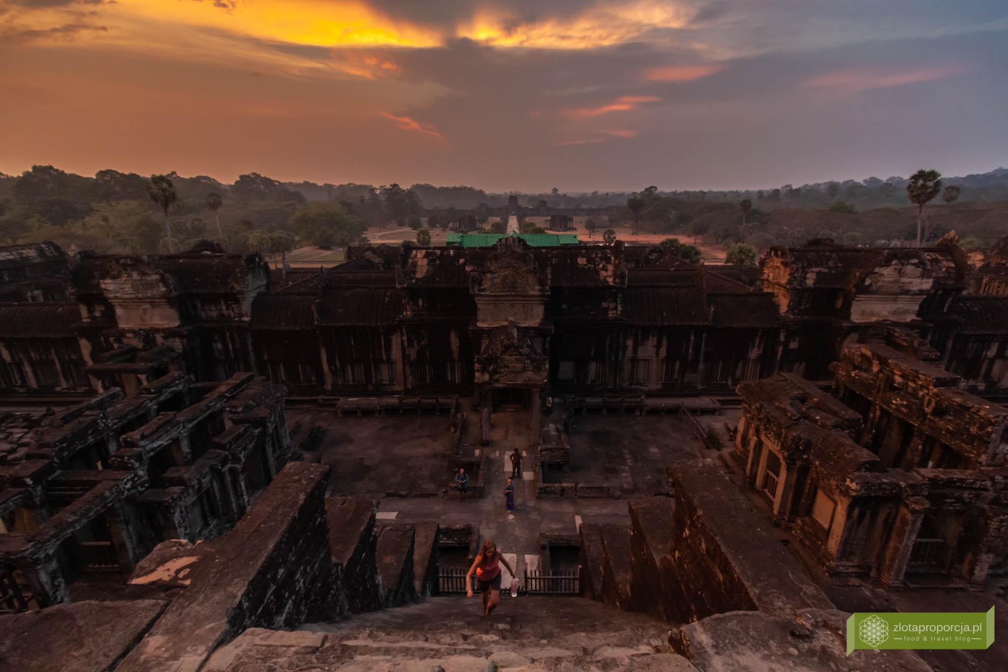 Angkor, Siem Reap, Kambodża; Angkor Wat