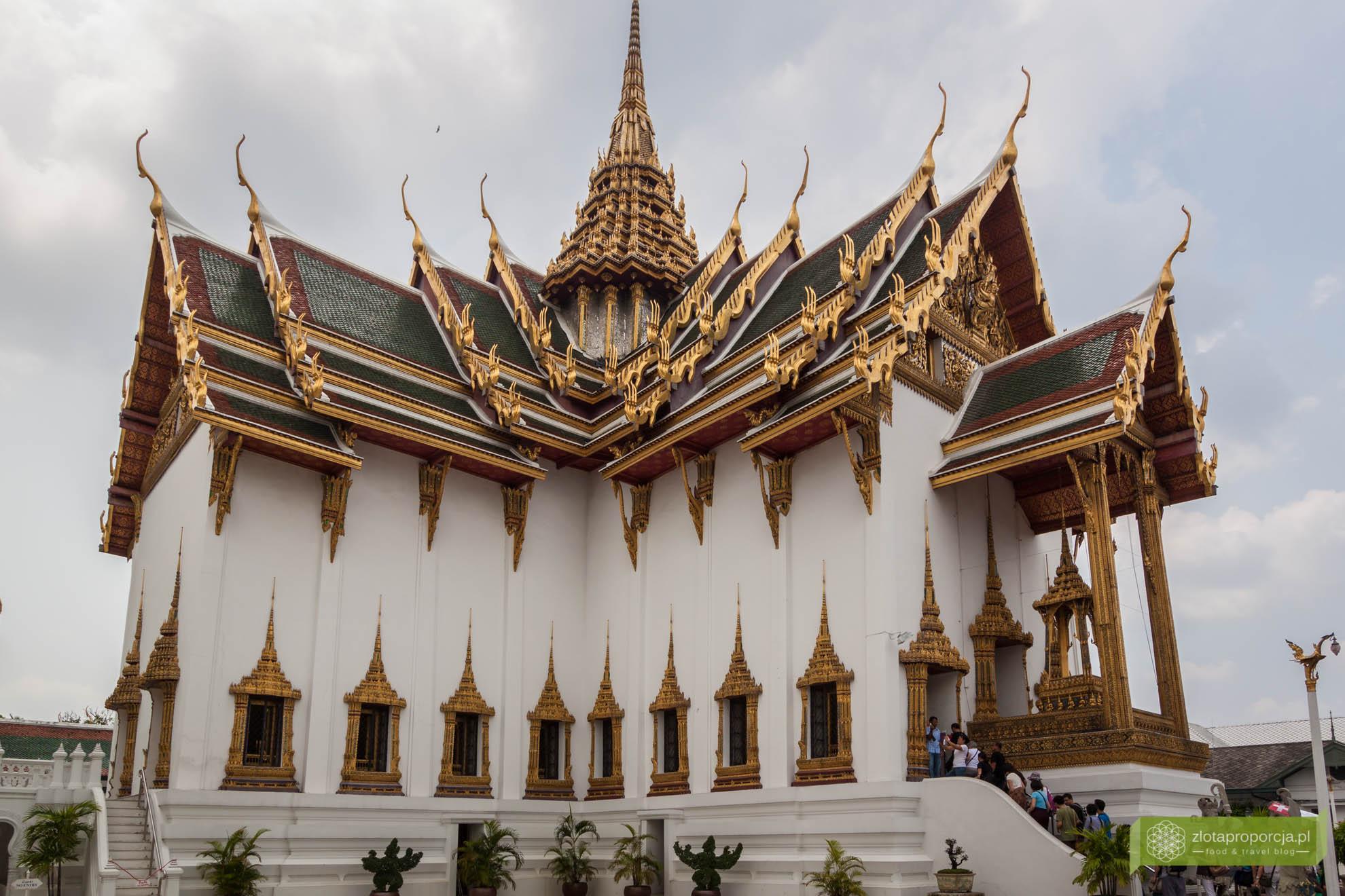 Bangkok, Tajlandia, atrakcje Bangkoku, Pałac Królewskie w Bangkoku