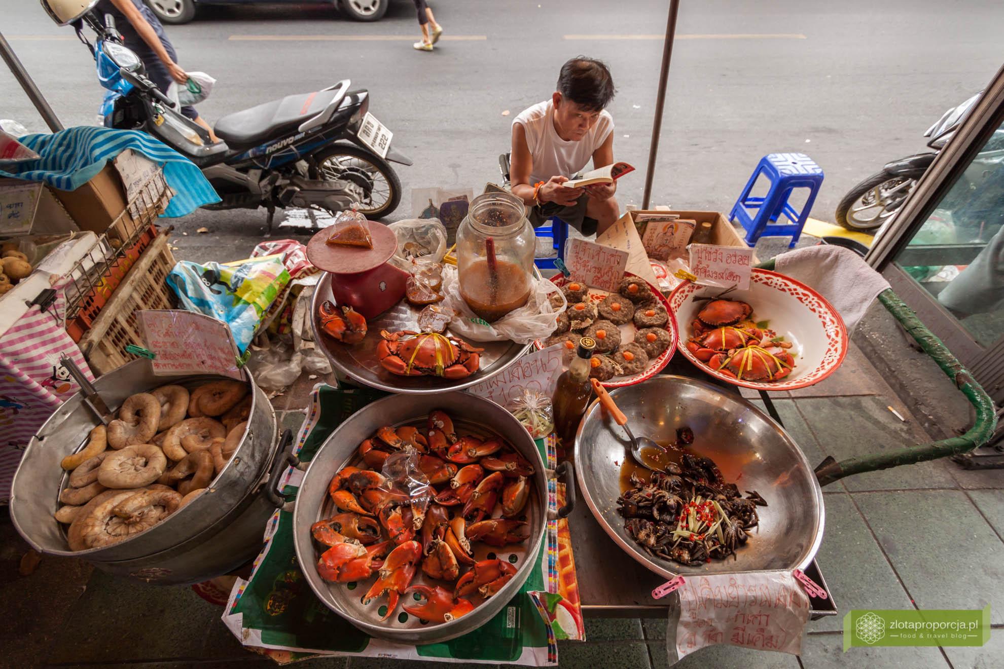 Bangkok, Tajlandia, atrakcje Bangkoku, street food w Bangkoku