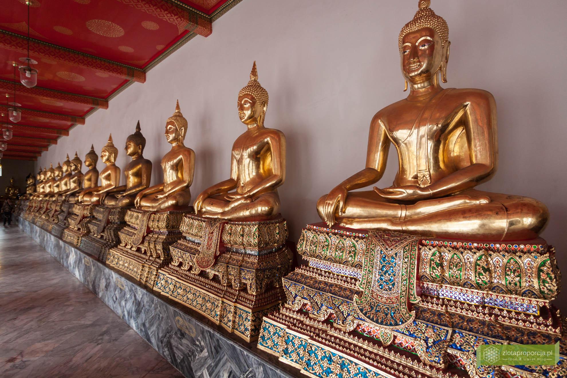 Bangkok, Tajlandia, atrakcje Bangkoku, Wat Pho, Świątynia Leżącego Buddy