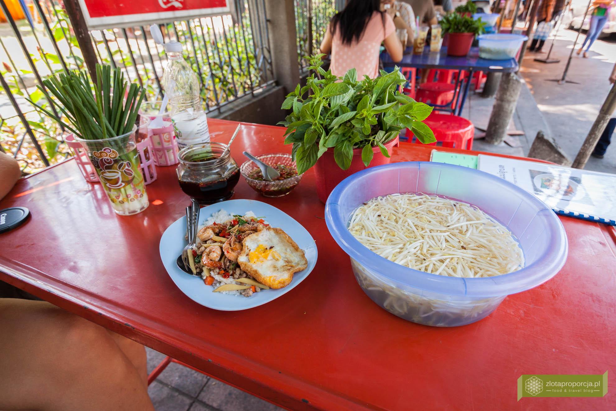 Bangkok, Tajlandia, street food w Bangkoku