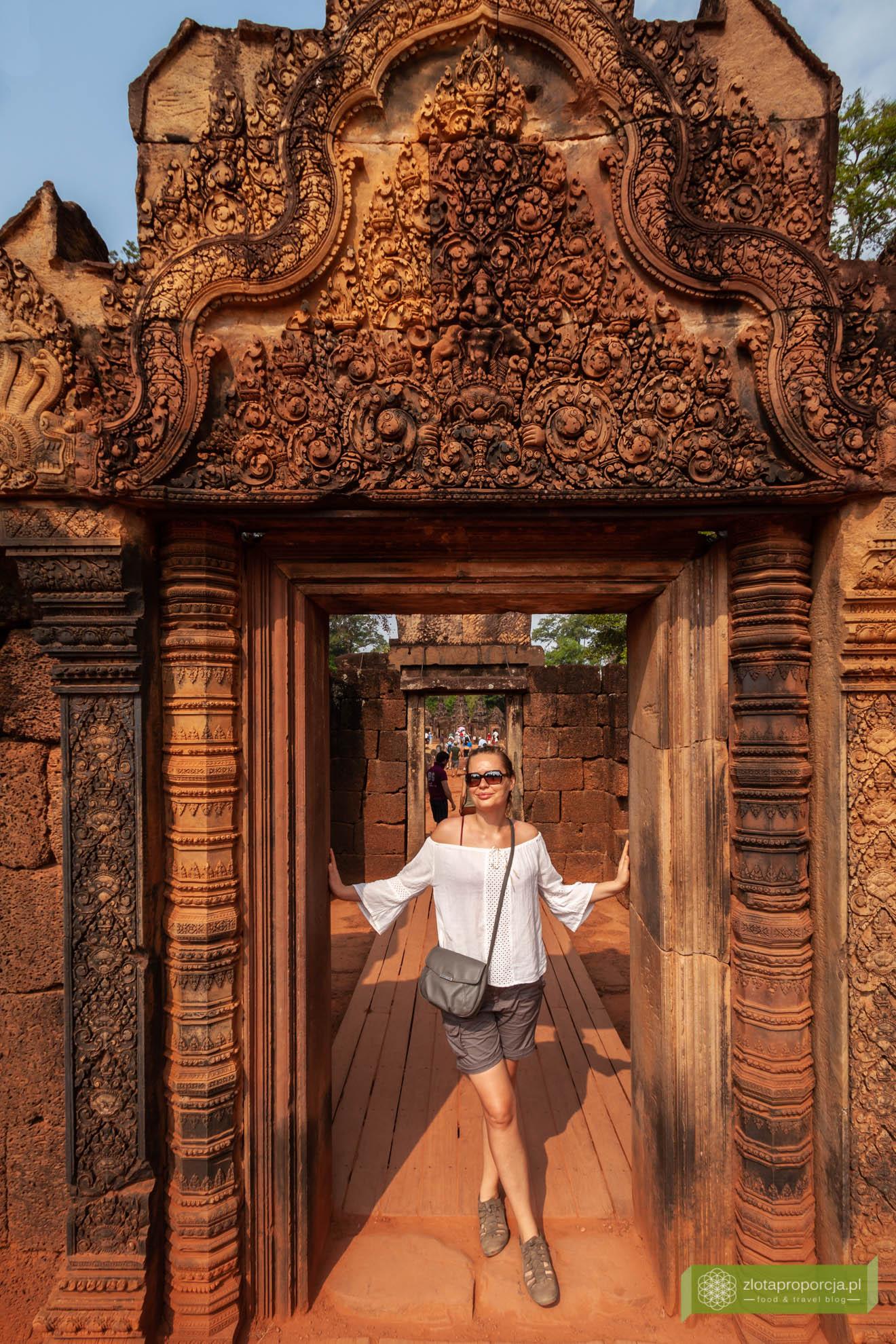 Angkor, Siem Reap, Kambodża; Banteay Srei