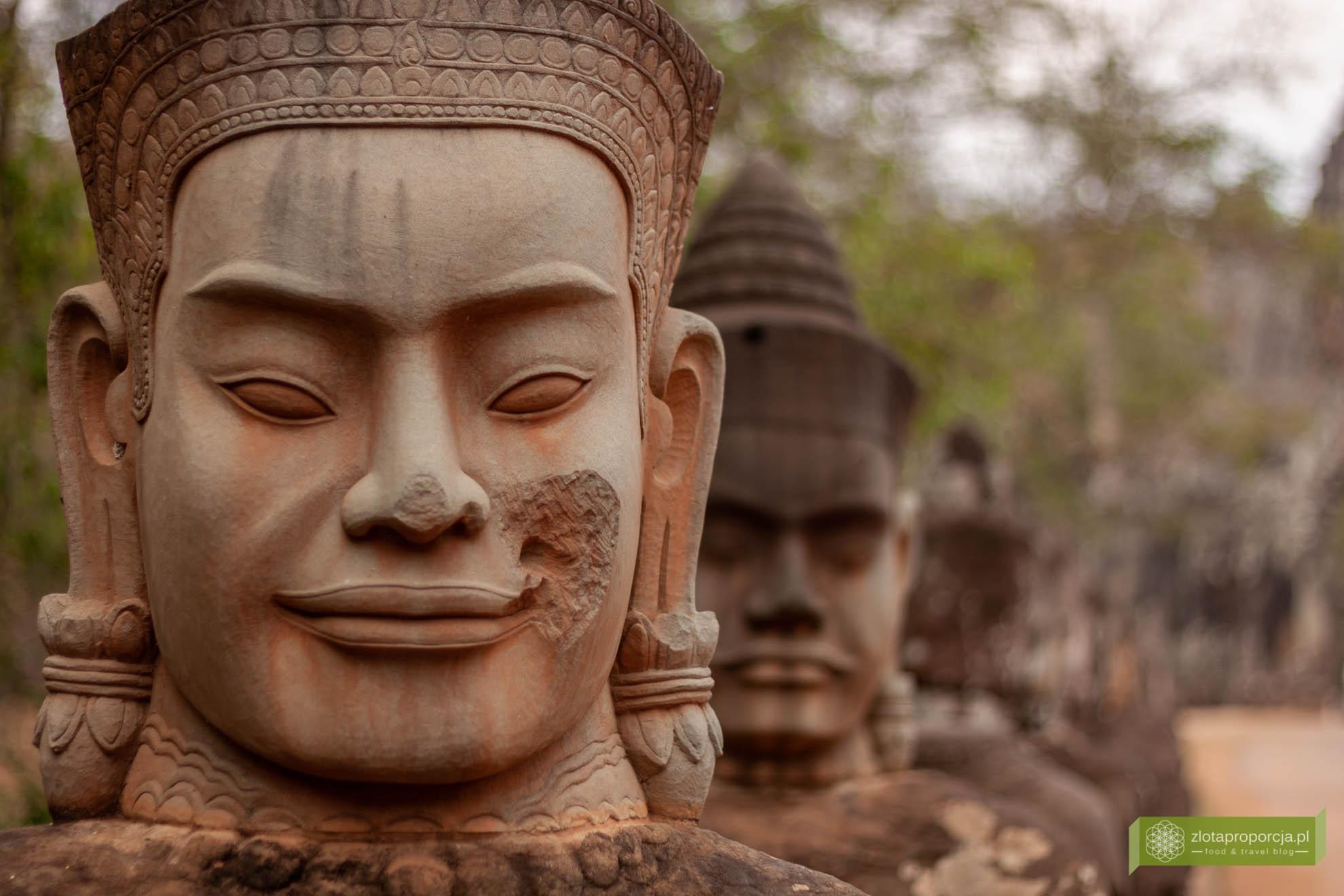 Angkor, Siem Reap, Kambodża; Bayon