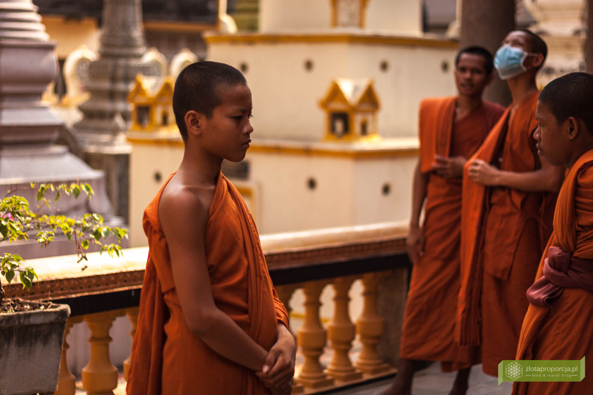 Phnom Penh, Kambodża, atrakcje Kambodży; Pałac Królewski w Phnom Penh;
