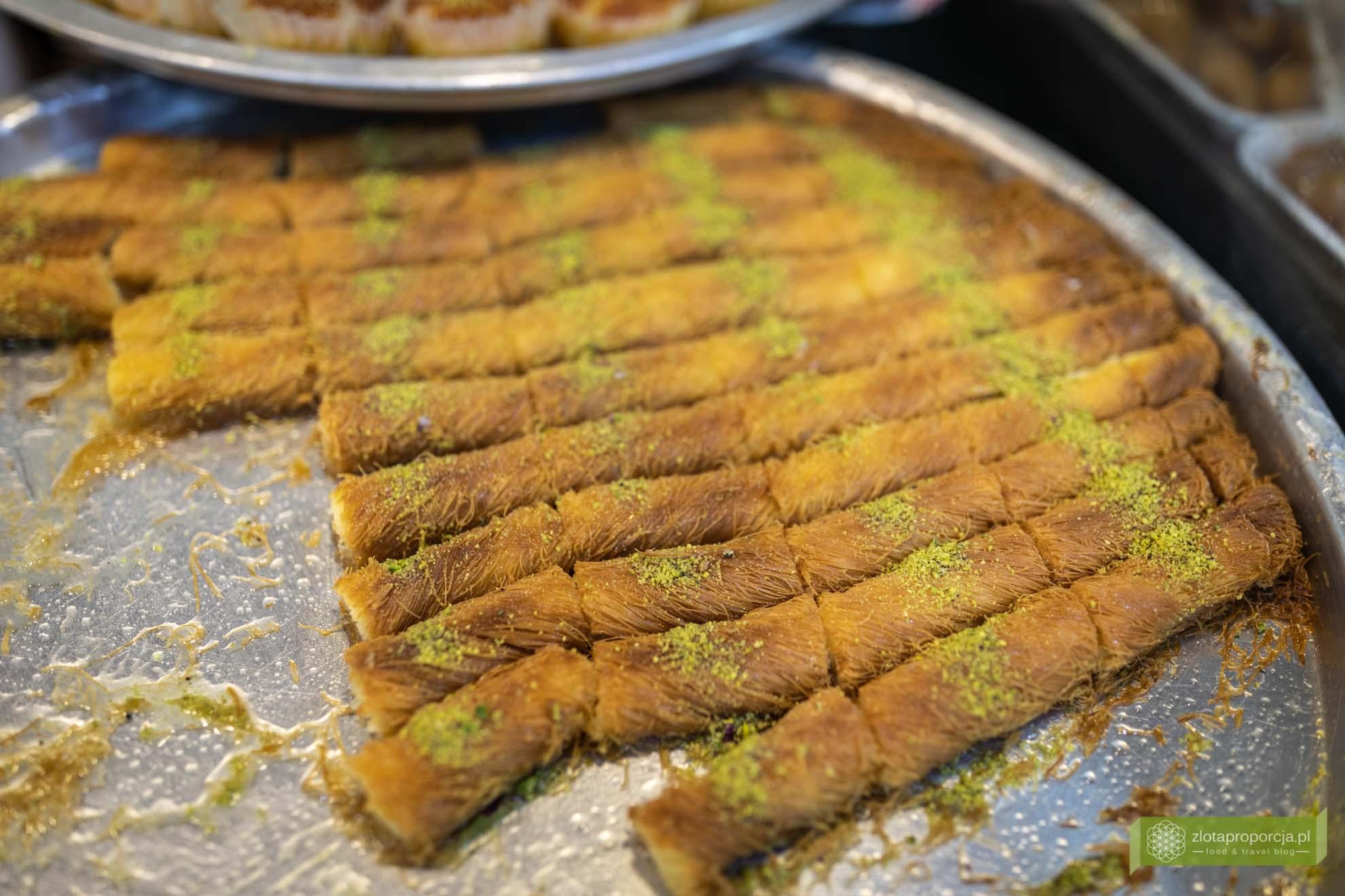 Jordania; Jordania jedzenie, Jordania kuchnia, kuchnia Jordanii; Jordańskie słodycze;