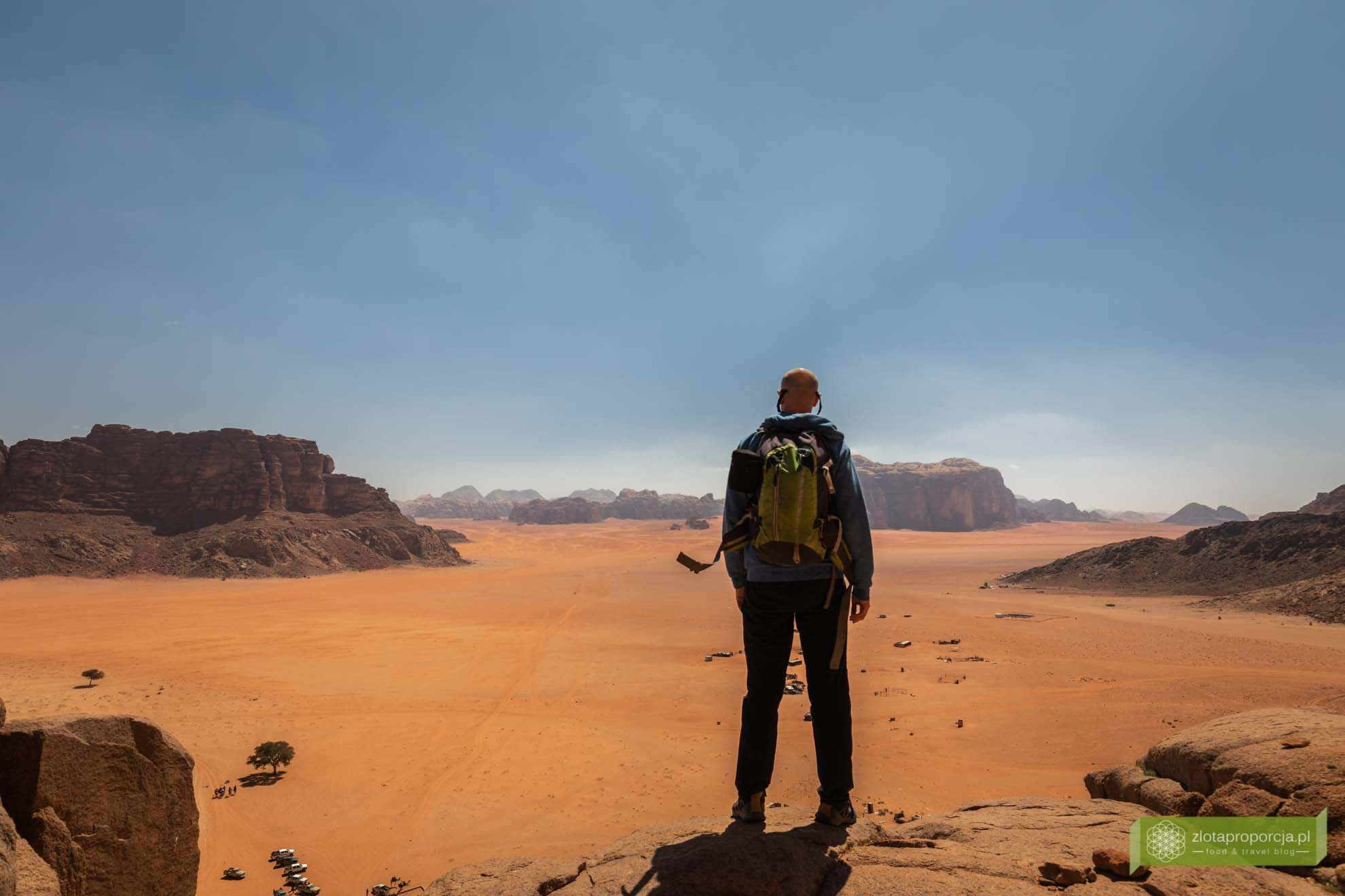 Jordania; Wadi Rum, pustynia Wadi Rum, pustynia w Jordanii;
