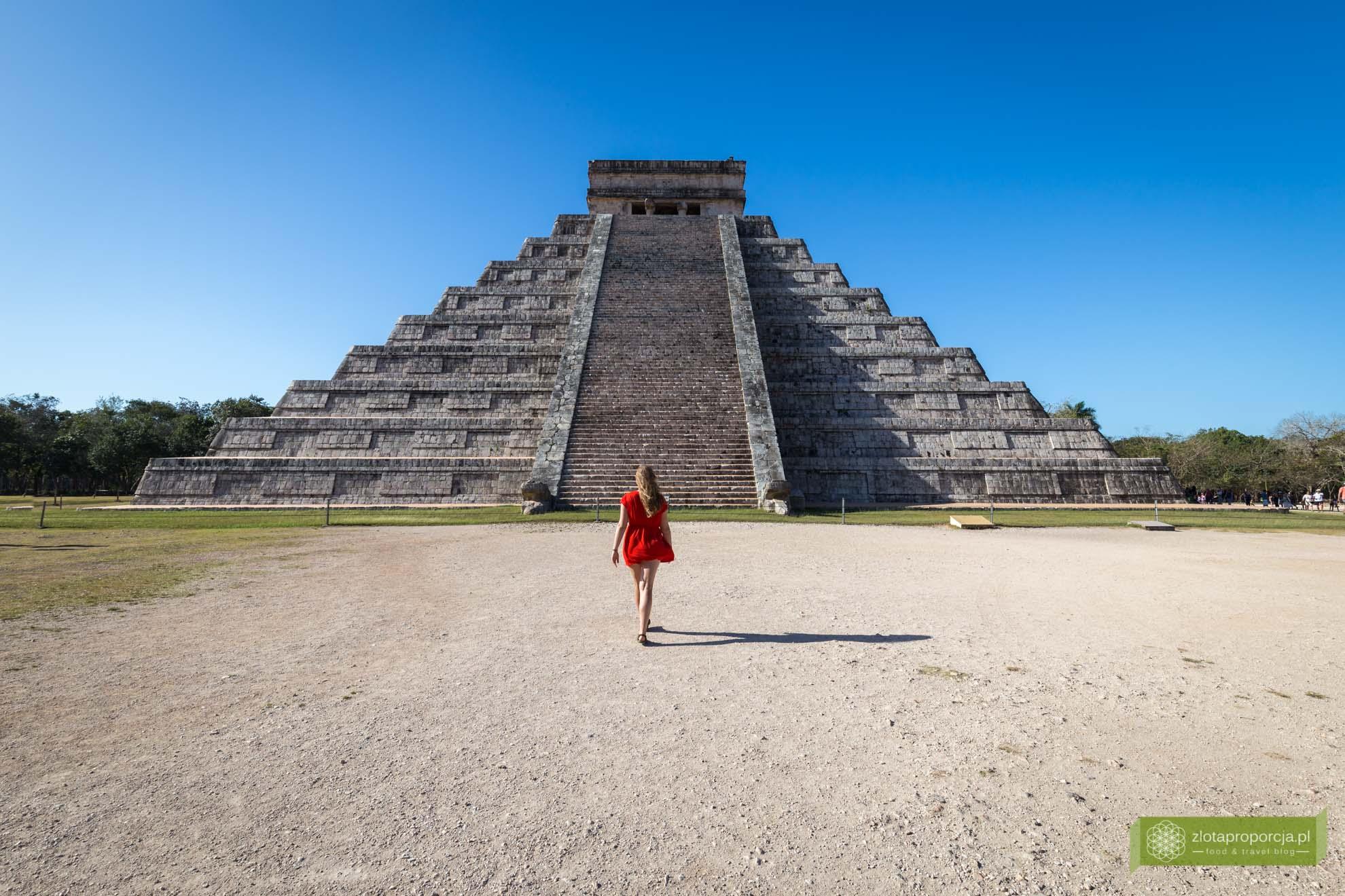 Meksyk, Miasta Majów, strefy archeologiczne na Jukatanie; Majowie budowle, Miasta Majów Meksyk, Majowie osiągnięcia; chichen itza miasto majów, Piramida Kukulkana, Chichen Itza, Miasta Majów Jukatan; Piramida Kukulkana;