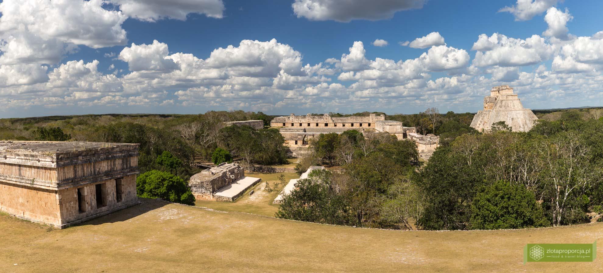 Meksyk, Miasta Majów, strefy archeologiczne na Jukatanie; Majowie budowle, Miasta Majów Meksyk, Majowie osiągnięcia; Uxmal, Miasta Majów Jukatan, strefa archeologiczna Uxmal, Ruta Puuc; Pałac Gubernatora Uxmal, Piramida Wróżbity;