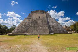 Meksyk, Miasta Majów, strefy archeologiczne na Jukatanie; Majowie budowle, Miasta Majów Meksyk, Majowie osiągnięcia; Uxmal, Miasta Majów Jukatan, strefa archeologiczna Uxmal, Ruta Puuc, Piramida Wróżbity;