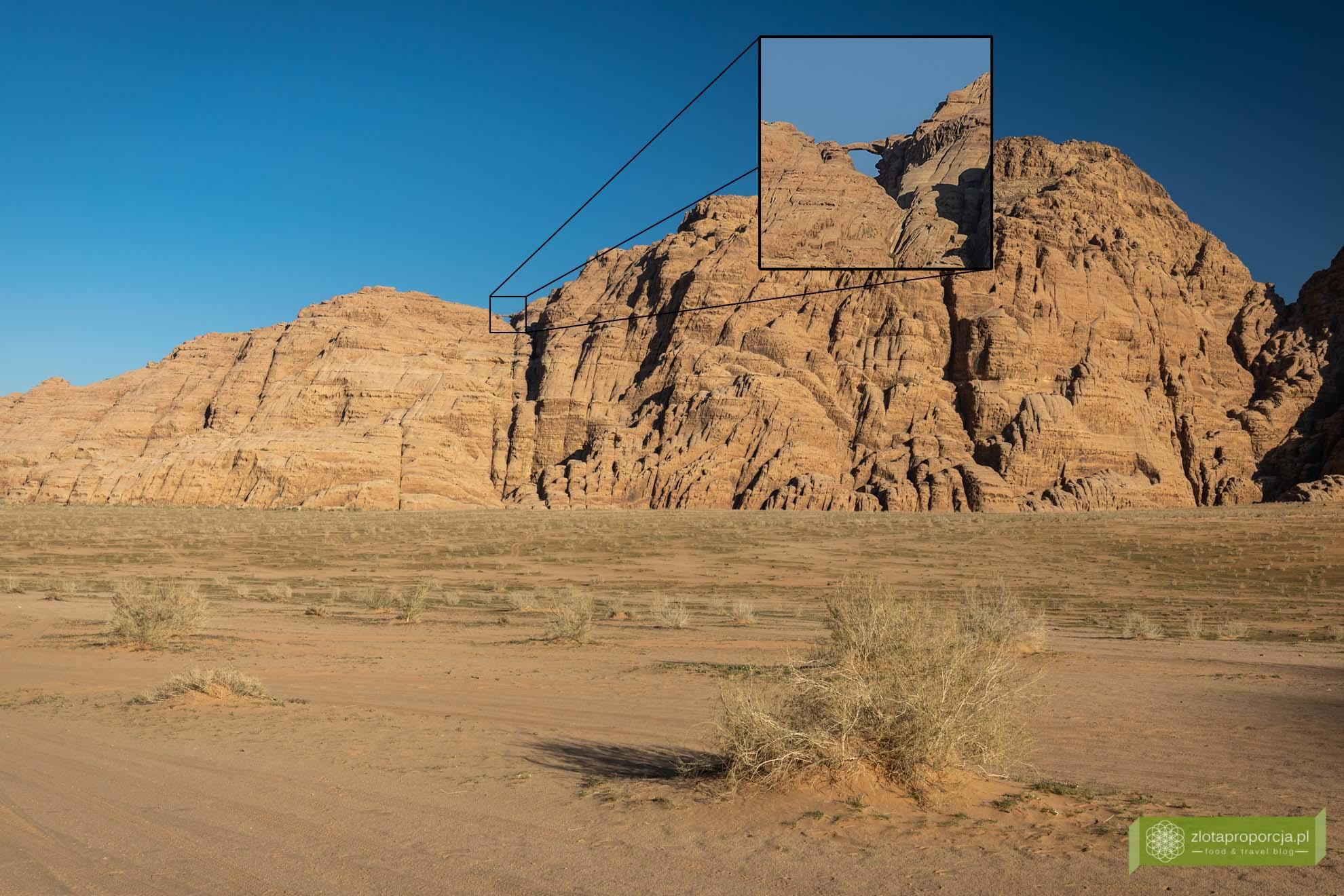 Wadi Rum, pustynia Wadi Rum, Jordania, pustynia Jordania; Wadi rum wycieczka, Wadi Rum zwiedzanie, Jordania atrakcje; Łuk Burdah;