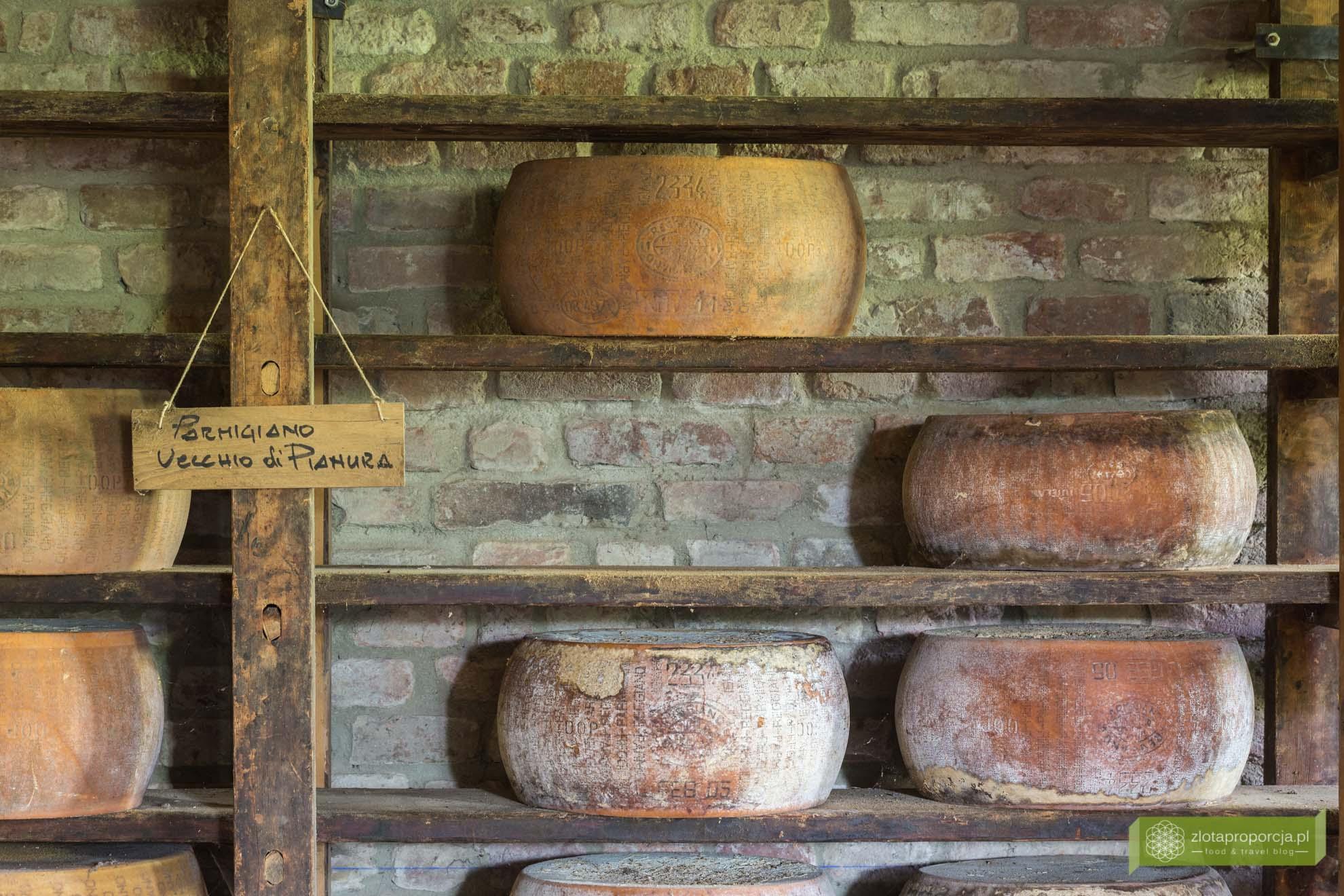 parmezan, Antica Corte Pallavicina, Emilia-Romania; kuchnia Emilii-Romanii; kuchnia włoska, okolice Parmy, spigaroli;