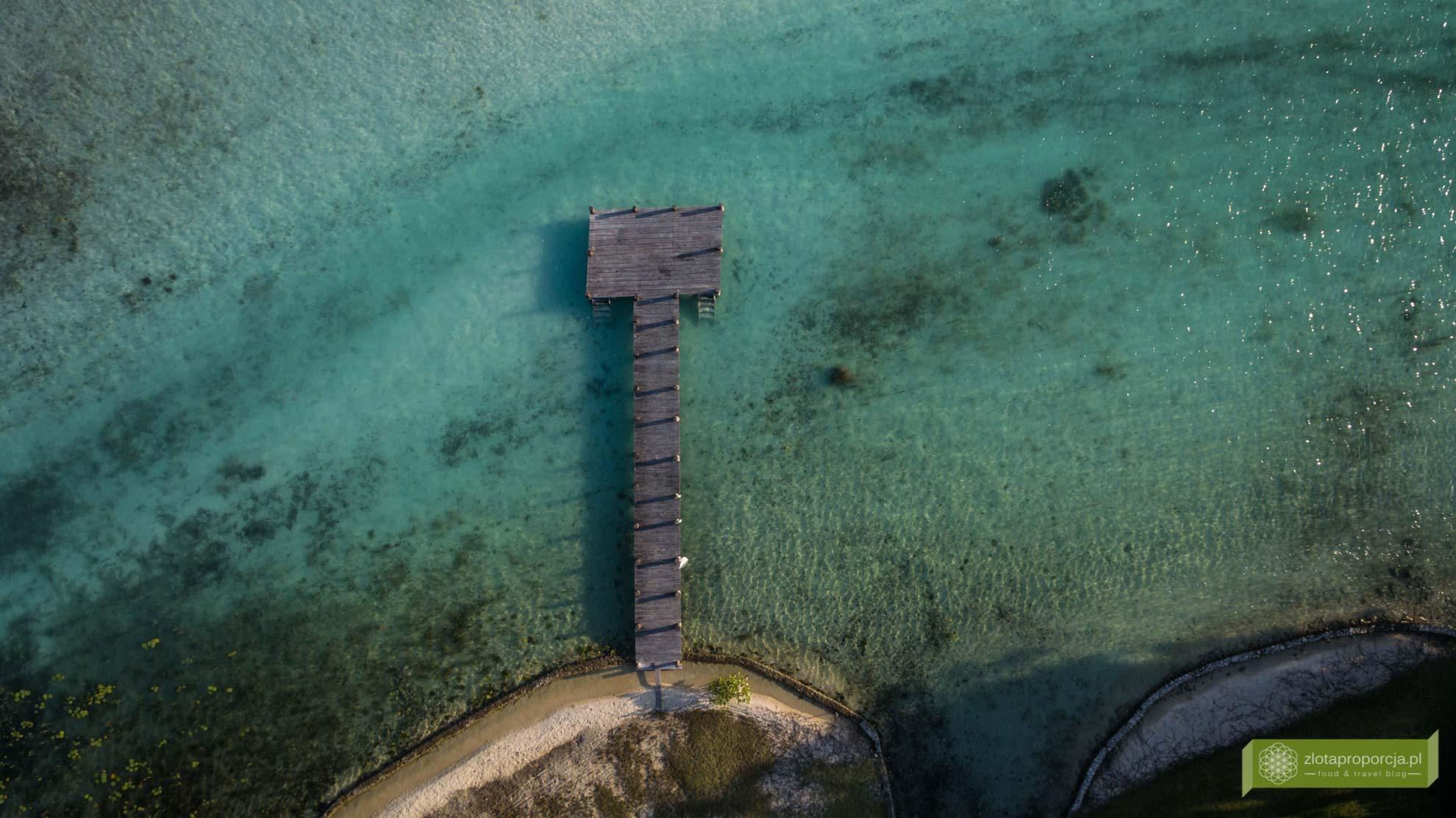 Meksyk, Jukatan, Bacalar, Laguna Bacalar, Laguna Siedmiu Kolorów; Jukatan atrakcje