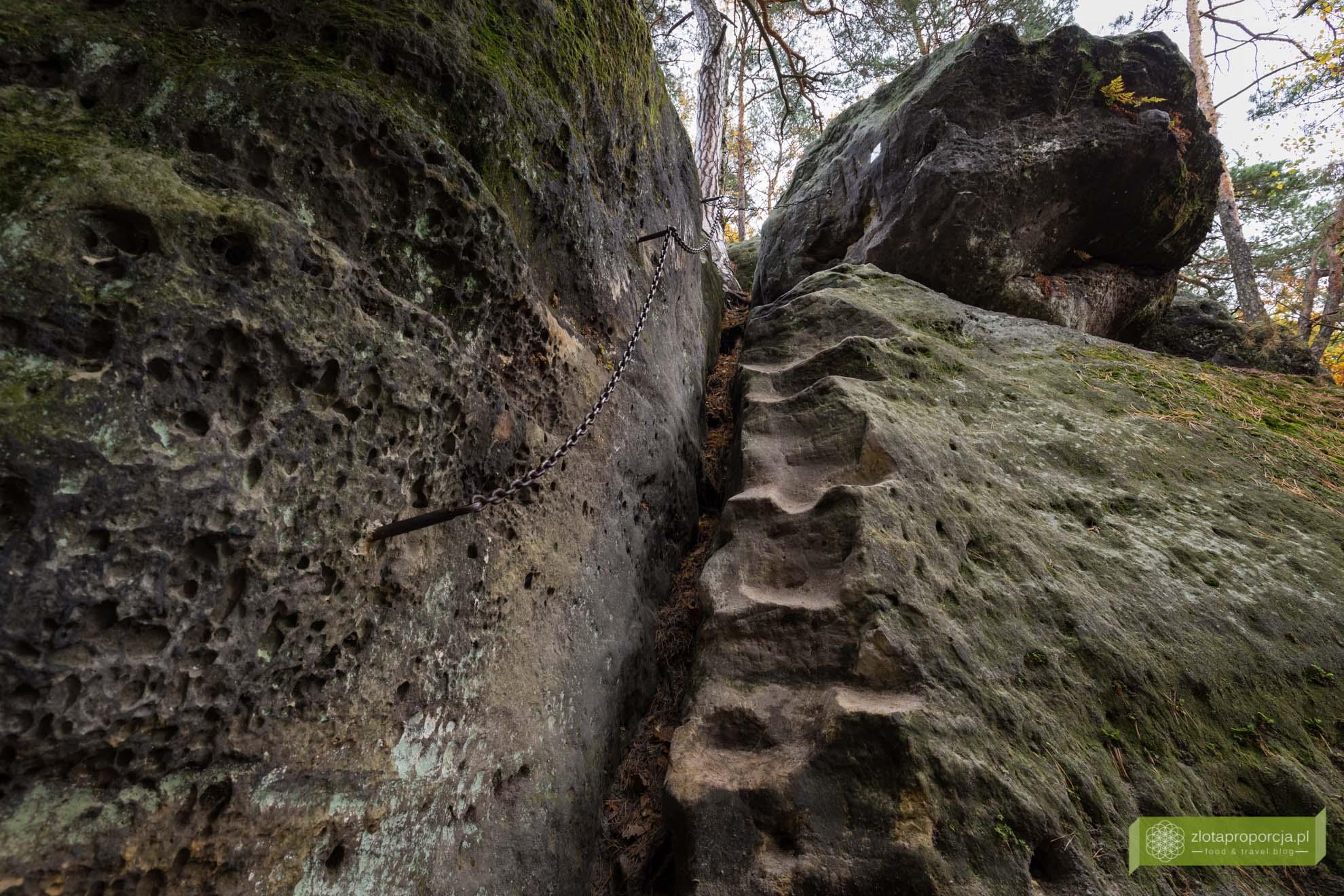 Kokorinsko, Czechy, atrakcje Czech; atrakcje Kokorinsko,; Cinibulkova Stezka; miasta skalne w Czechach;