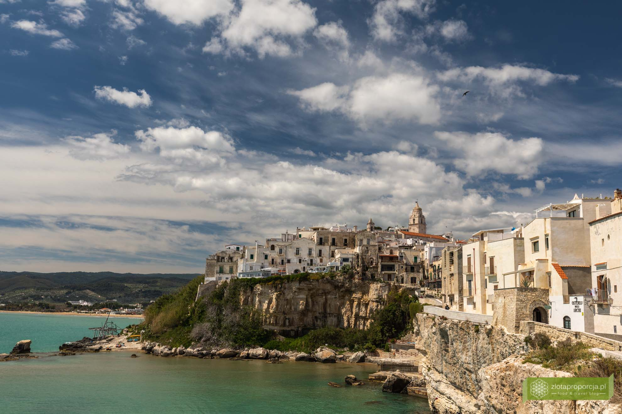Vieste; Gargano; Apulia; atrakcje Gargano; Vieste Gargano, co zobaczyć na Gargano; atrakcje Apulii;