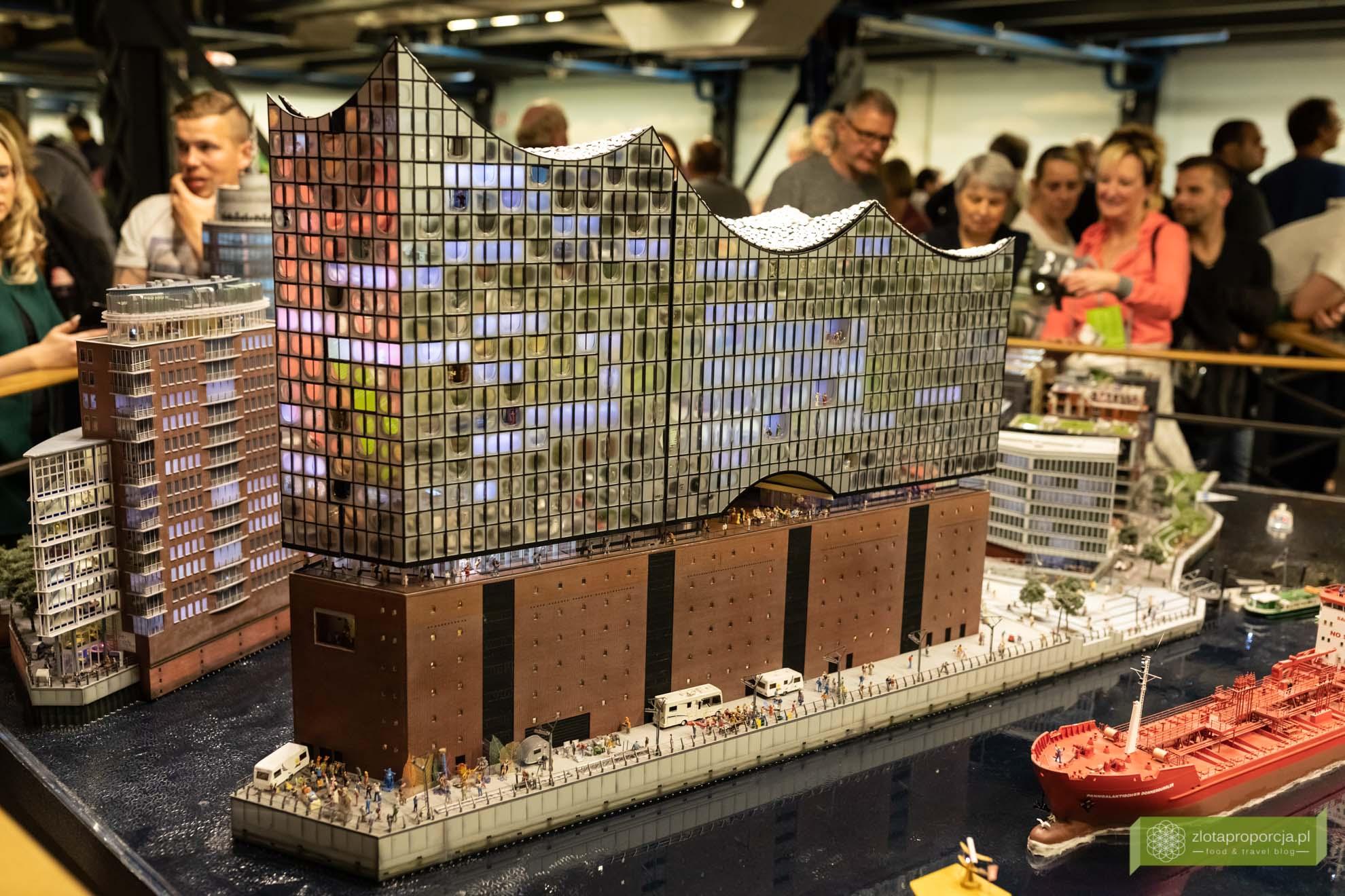 Elbphilharmonie; Hamburg, atrakcje Hamburga, HafenCity; elbphilharmonie w hamburgu; filharmonia w Hamburgu; Niemcy; atrakcje Niemiec; Miniatur Wunderland