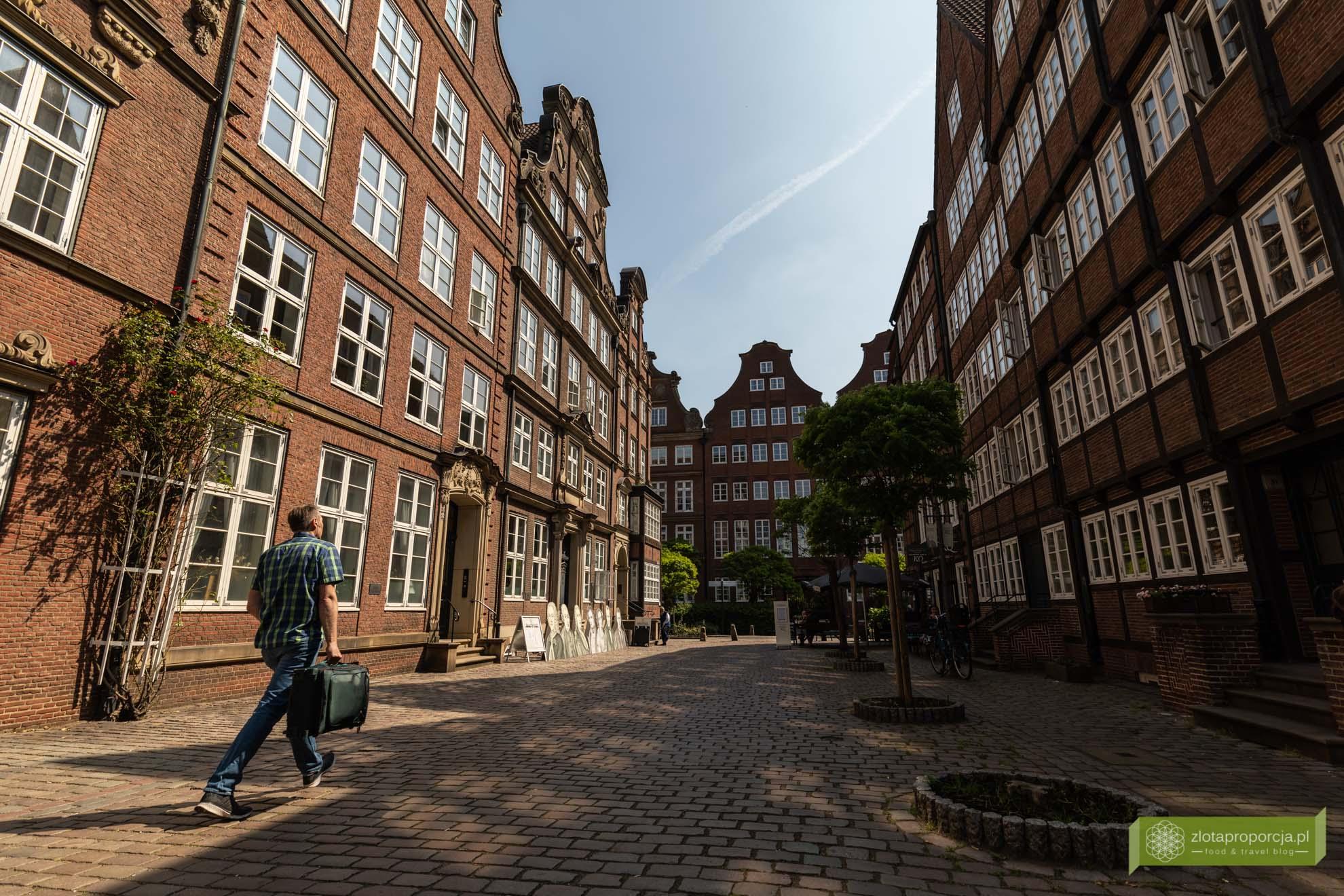 Hamburg, atrakcje Hamburga, Niemcy; Dzielnica Kompozytorów, Ulica Kompozytorów
