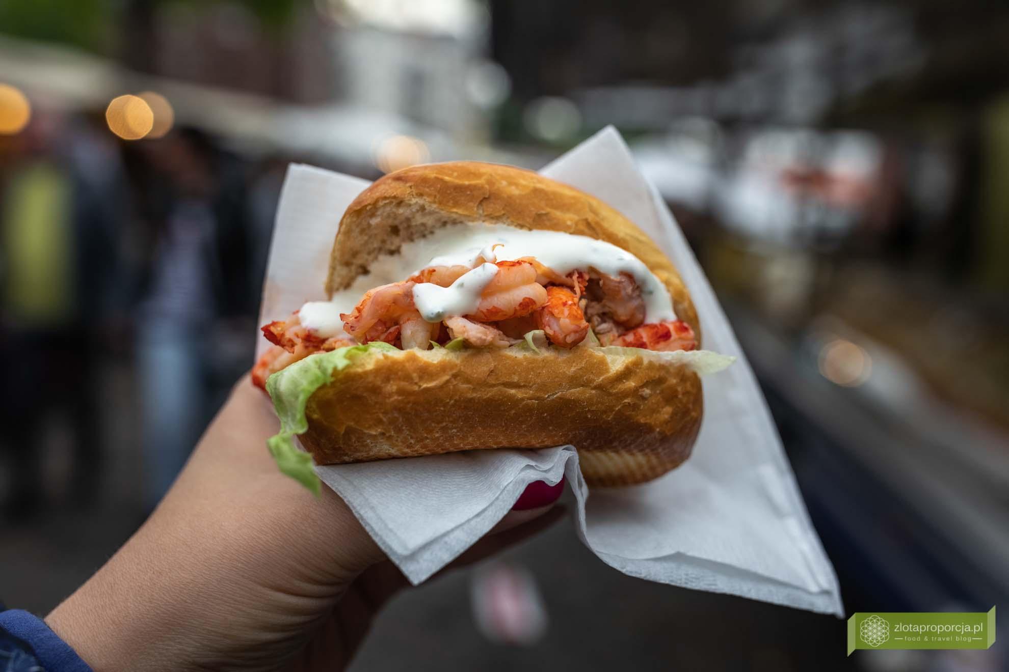 Hamburg, atrakcje Hamburga, Niemcy; Fischmarkt; targ rybny w Hamburgu; Fischmarkt w Hamburgu; kuchnia Hamburga, co zjeść w Hamburgu; Fischbrötchen;