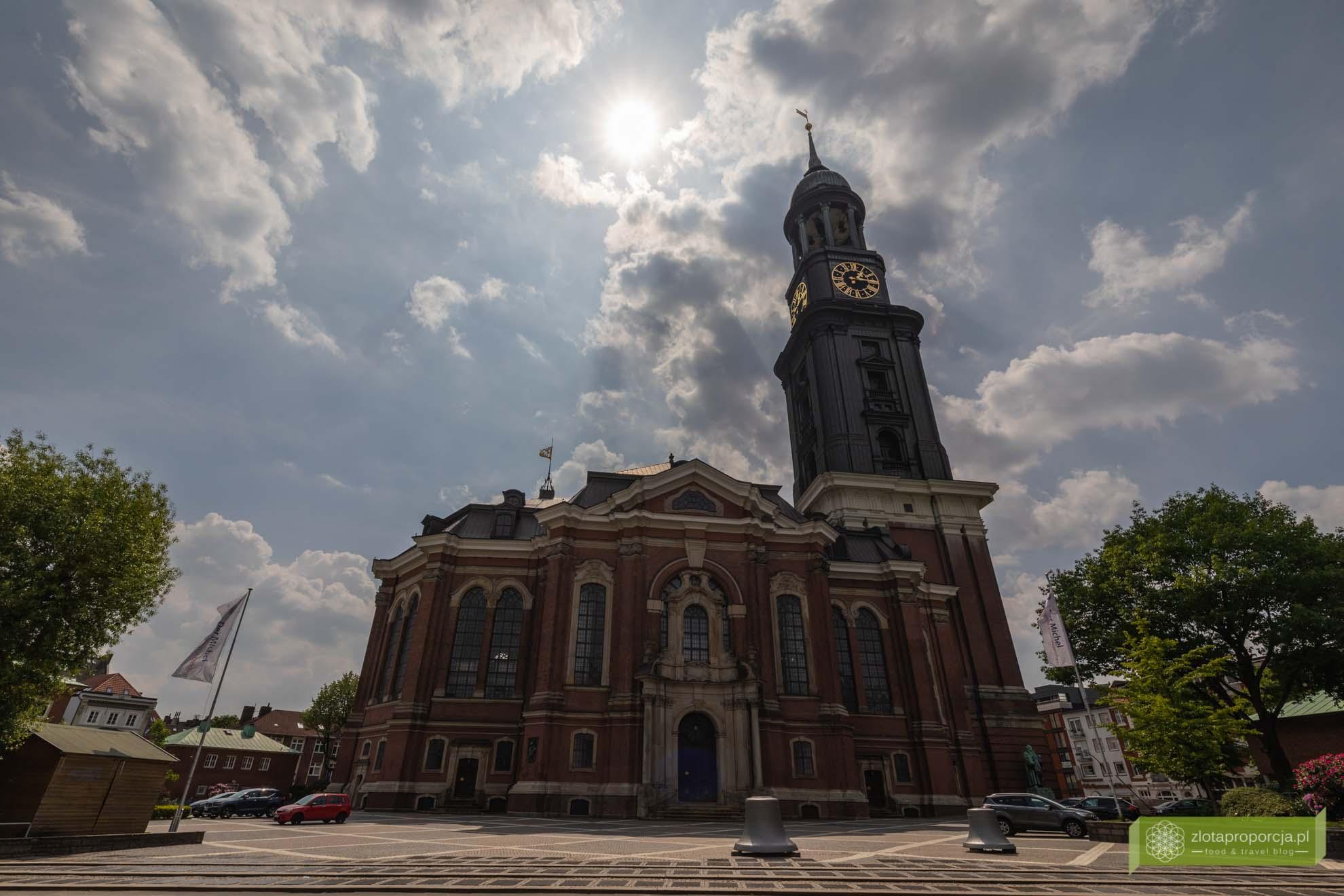 Hamburg, atrakcje Hamburga, Niemcy; Kościół św. Michała w Hamburgu;