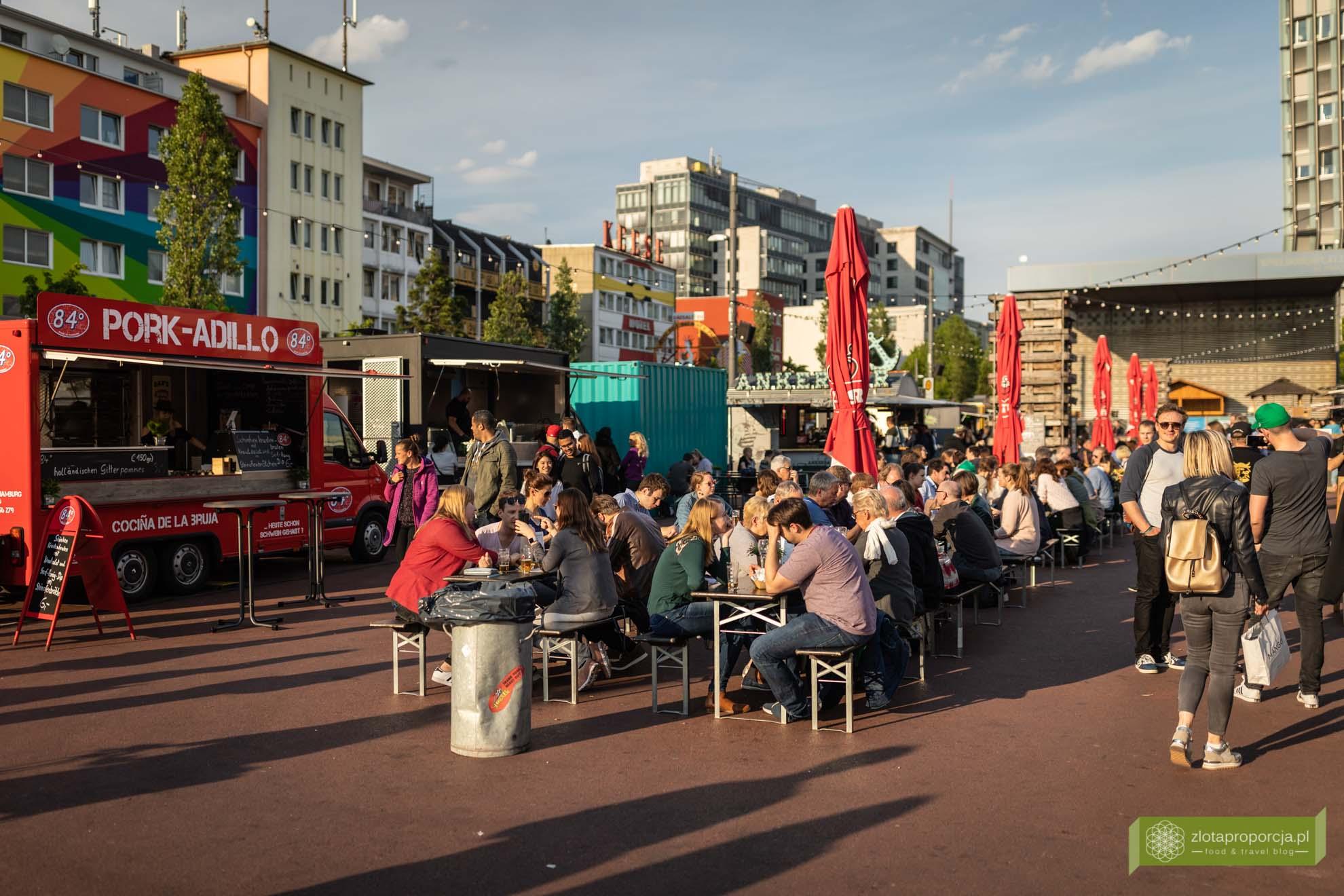 co zjeść w Hamburgu; potrawy Hamburga; street food sessions Hamburg; street food w Hamburgu;