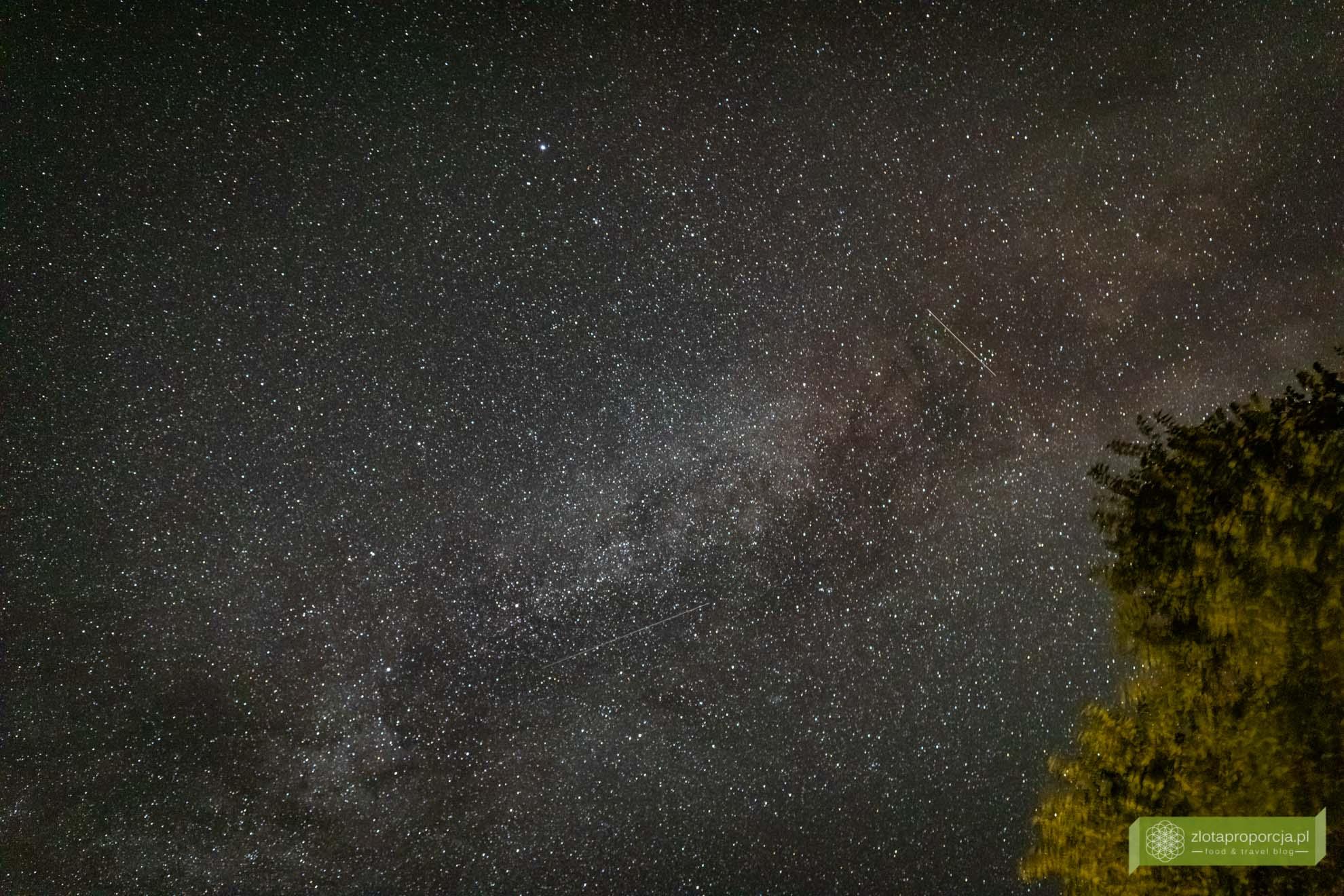 Podlasie Nadbużańskie; atrakcje Podlasia; gwiazdy; niebo na Podlasiu;