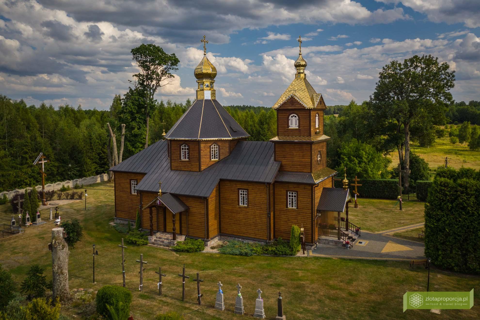 Podlasie Nadbużańskie; atrakcje Podlasia; Telatycze; cerkiew w Telatyczach; cerkwie na Podlasiu;