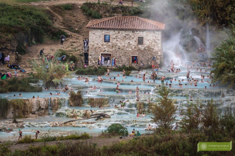 Toskania; atrakcje Toskanii; Toskania gorące źródła, termy Toskania; Terme di Saturnia; Cascate del Mulino; Saturnia Toskania gorące źródła;