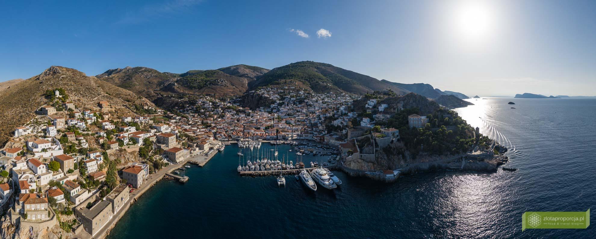 Hydra; wyspa Hydra; Wyspy Sarońskie; Grecja; greckie wyspy; okolice Aten; najpiękniejsze greckie wyspy; hydra plaże