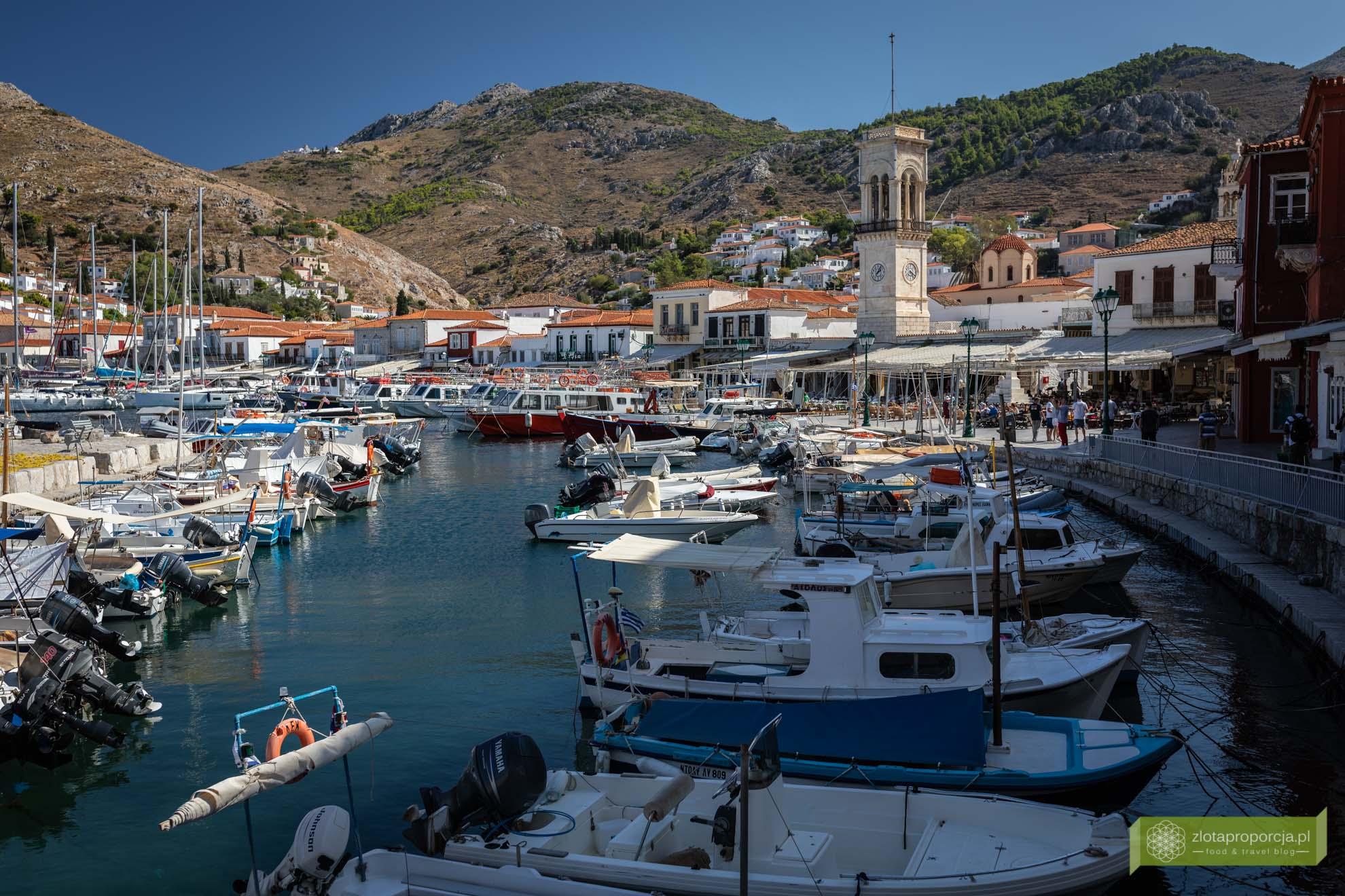 Hydra; wyspa Hydra; Wyspy Sarońskie; Grecja; greckie wyspy; okolice Aten; najpiękniejsze greckie wyspy;