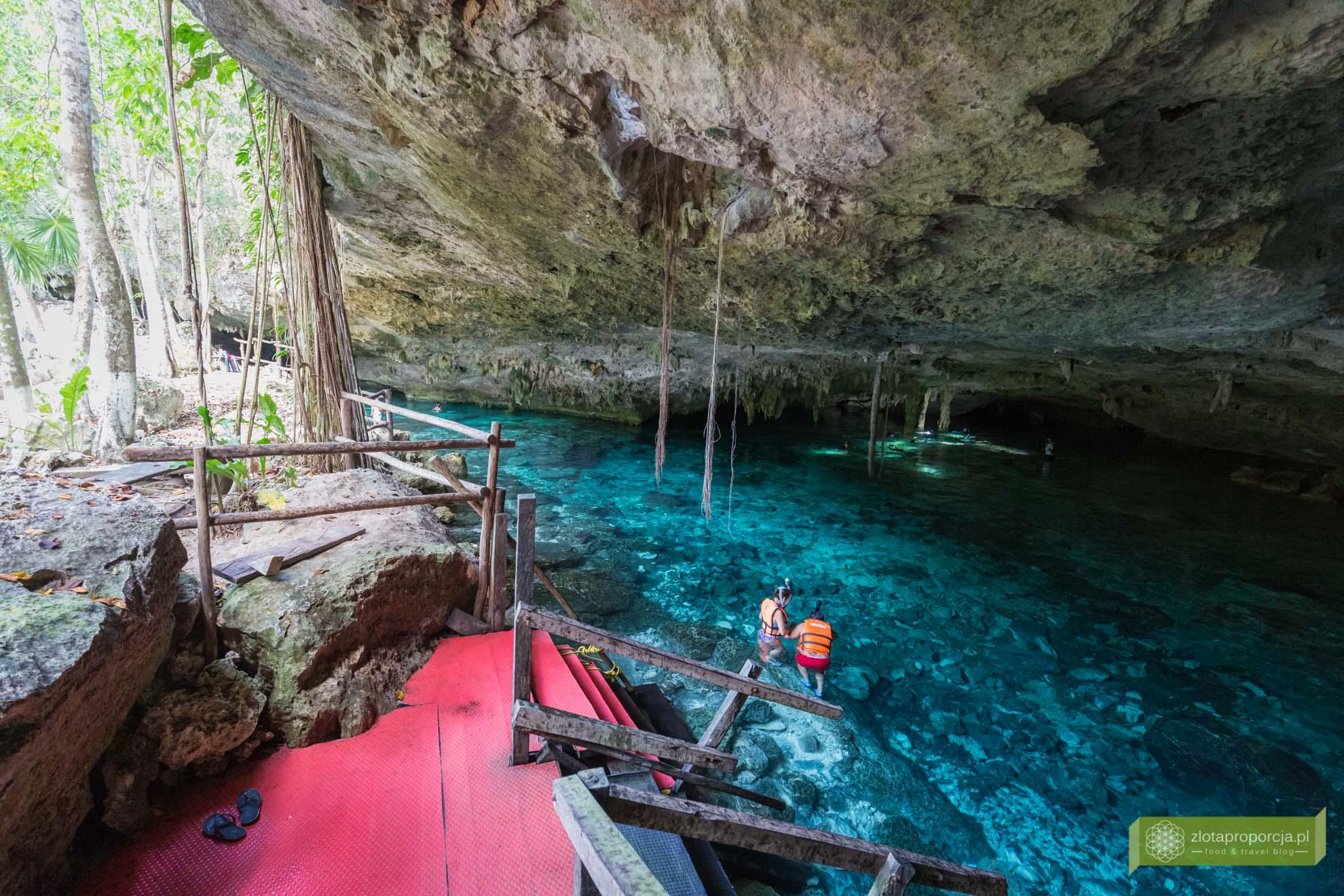 Jukatan; atrakcje Jukatan; cenoty; cenoty Meksyk; cenoty Jukatan; Cenota Dos Ojos; cenoty Tulum; okolice Tulum;