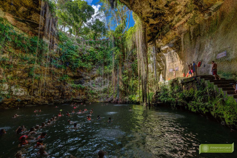 Jukatan; atrakcje Jukatan; cenoty; cenoty Meksyk; cenoty Jukatan; Cenota Ik Kil; cenota Chicehn Itza; najpiękniejsza cenota Jukatan;