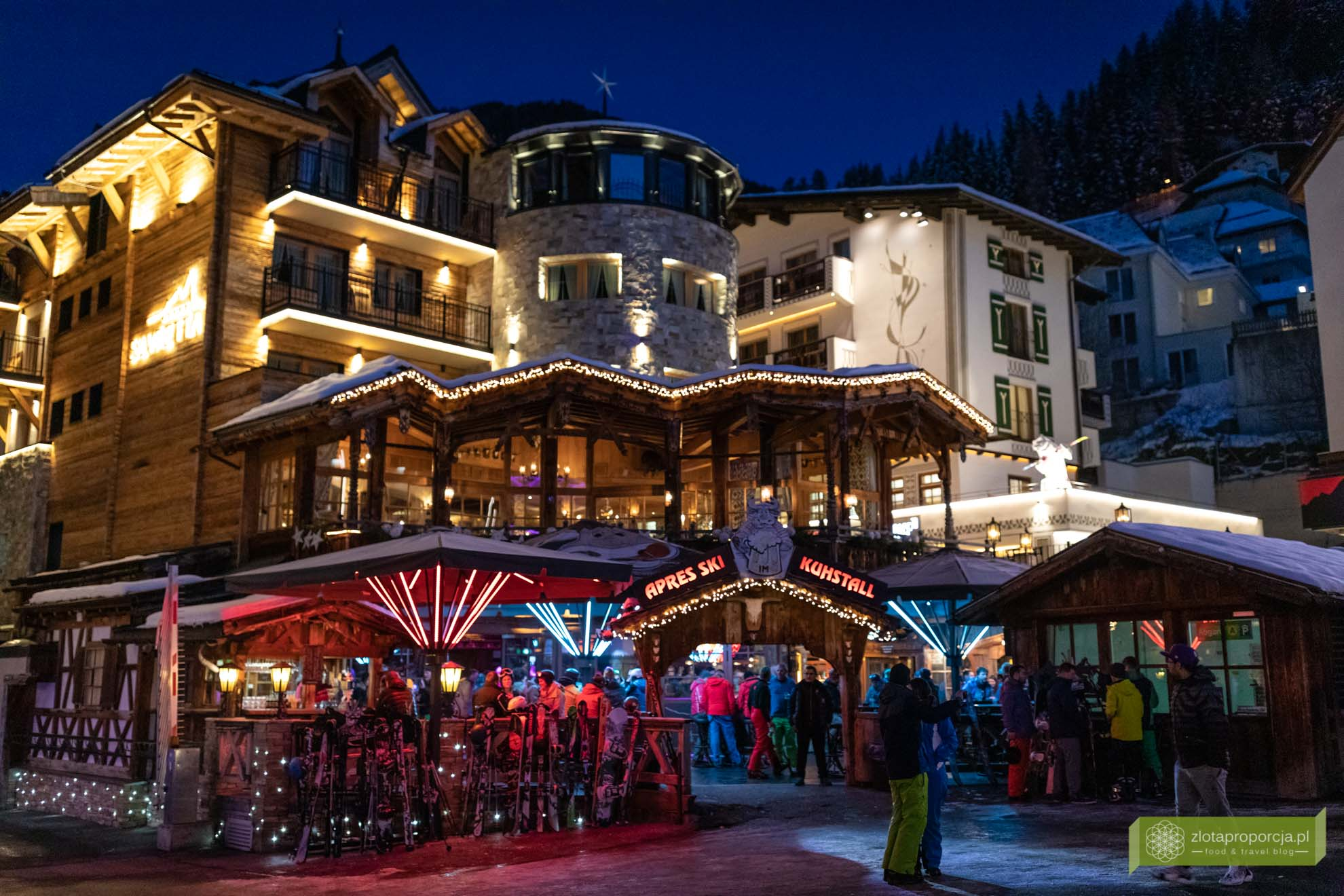 Ischgl; Tyrol; narty w Tyrolu; narty w Austrii; Kuhstal Ischgl; Apres ski Ischgl;
